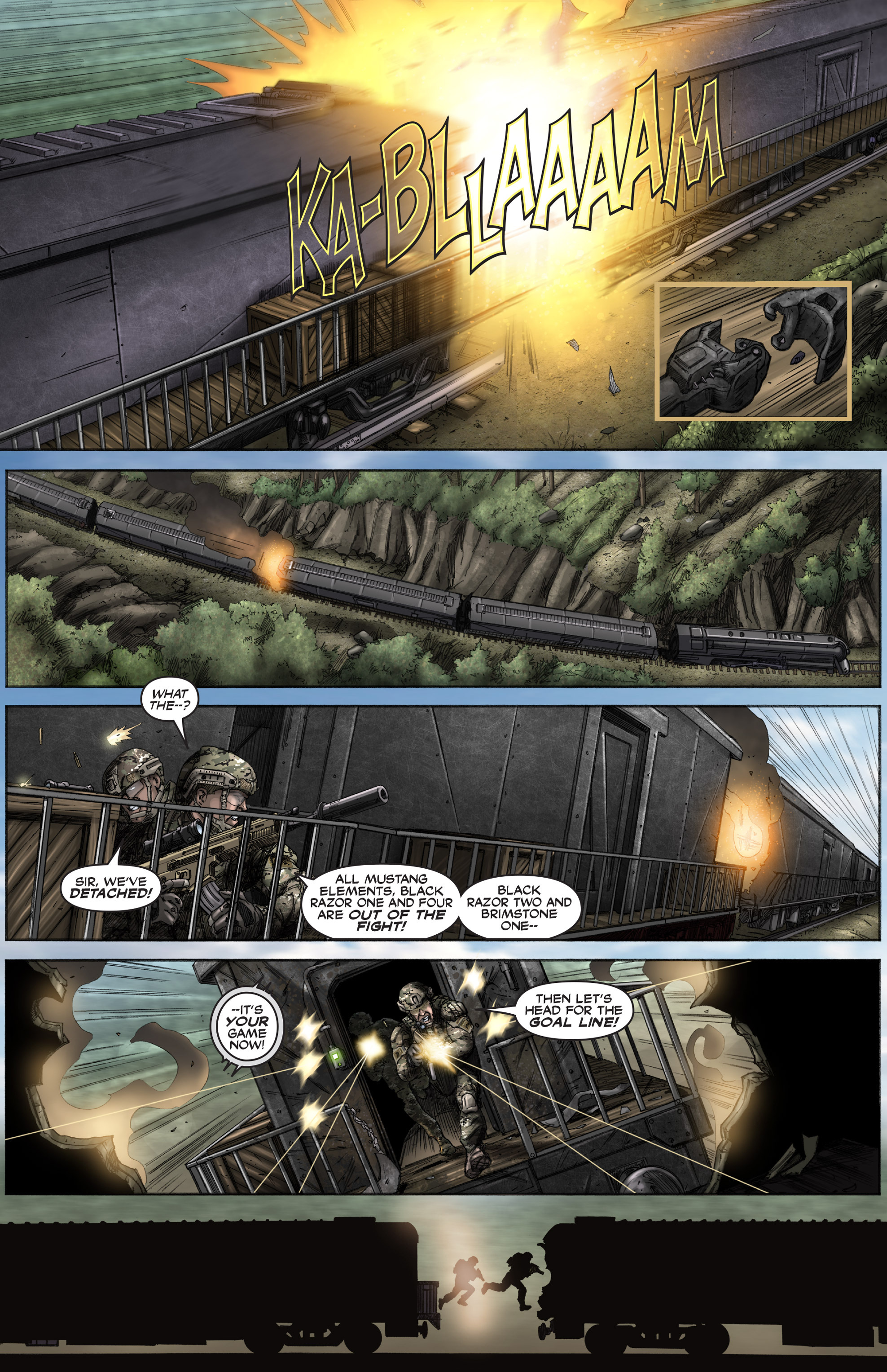 Read online America's Army comic -  Issue #12 - 15