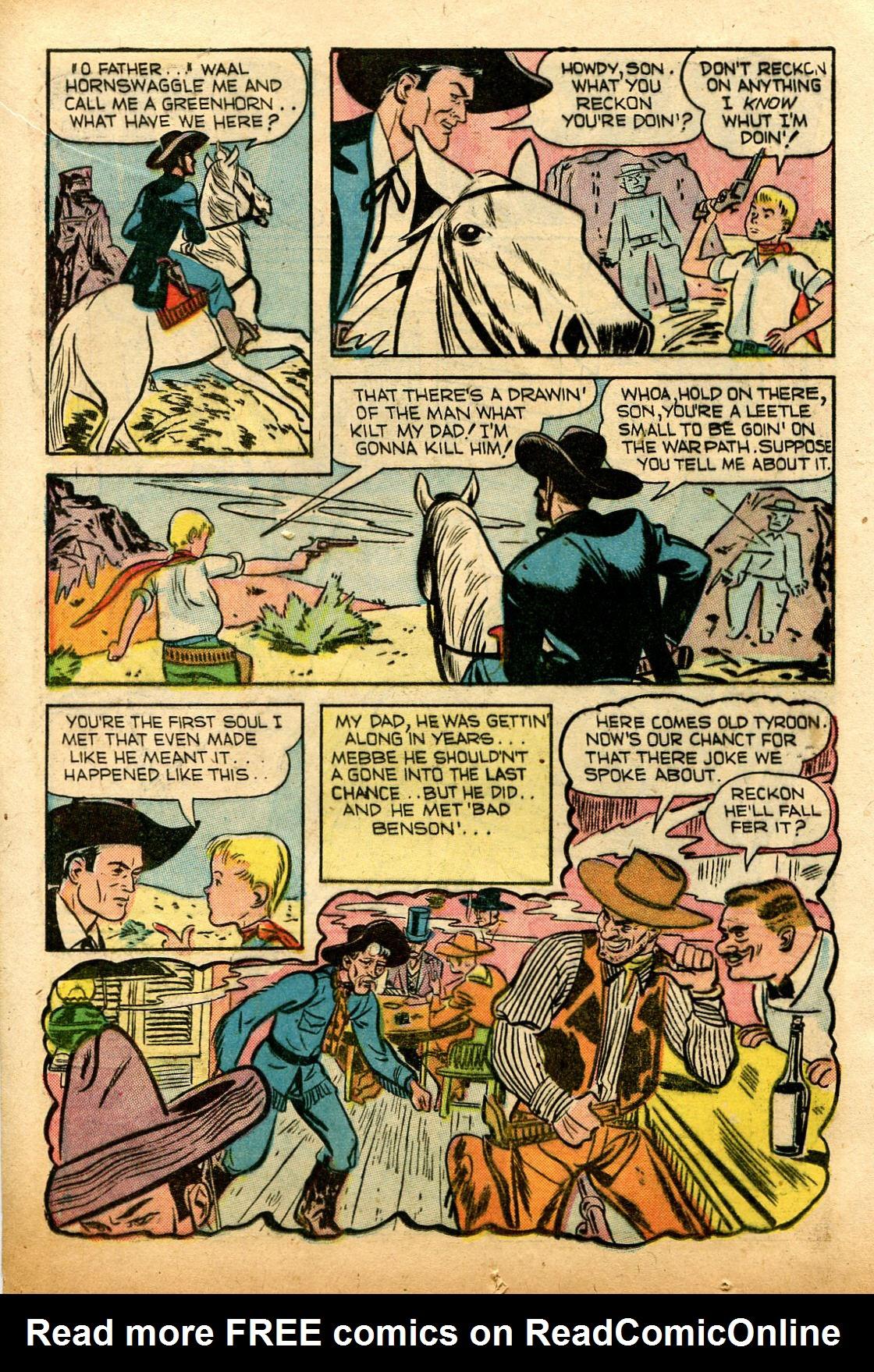 Read online Shadow Comics comic -  Issue #74 - 18