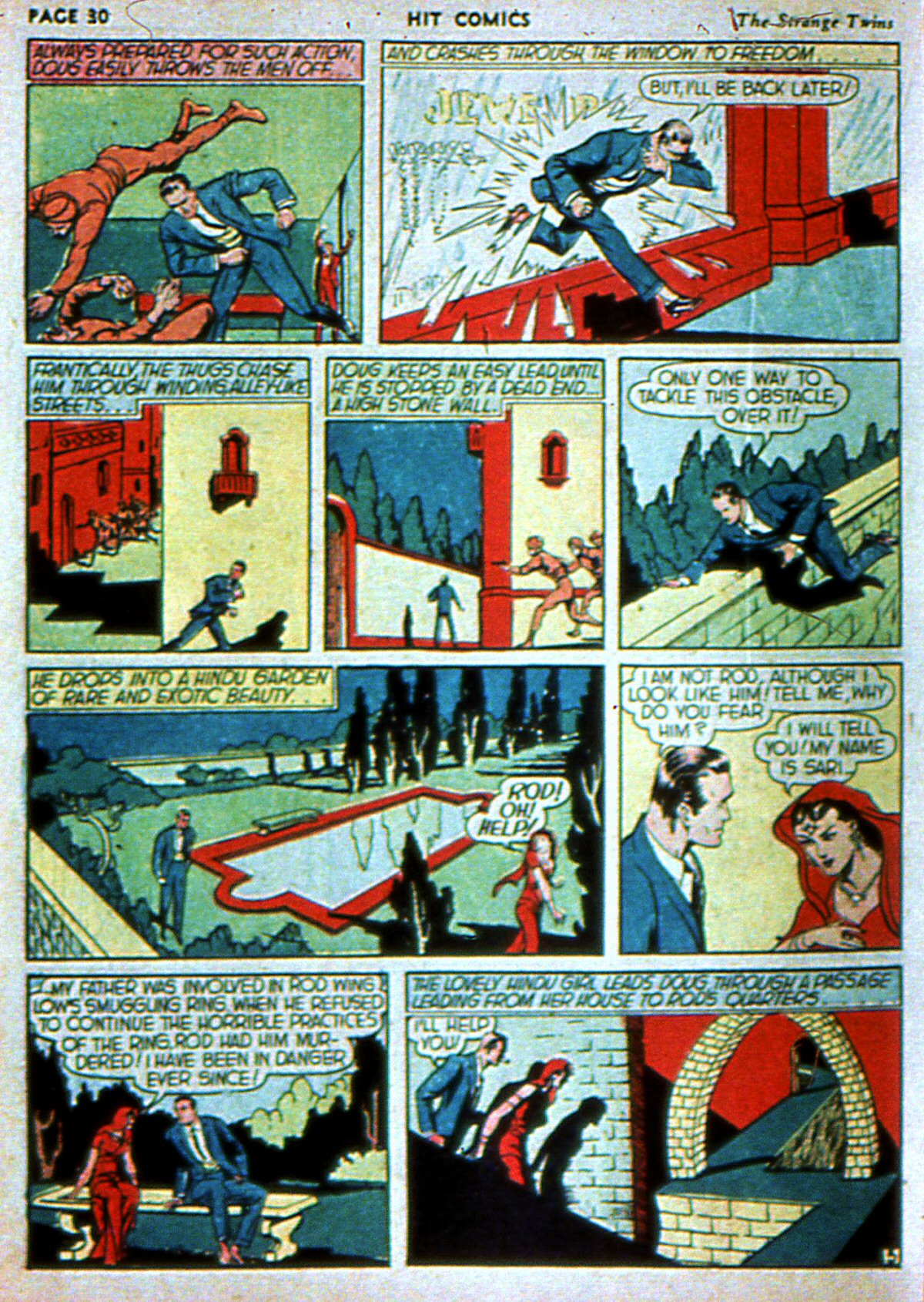 Read online Hit Comics comic -  Issue #3 - 32