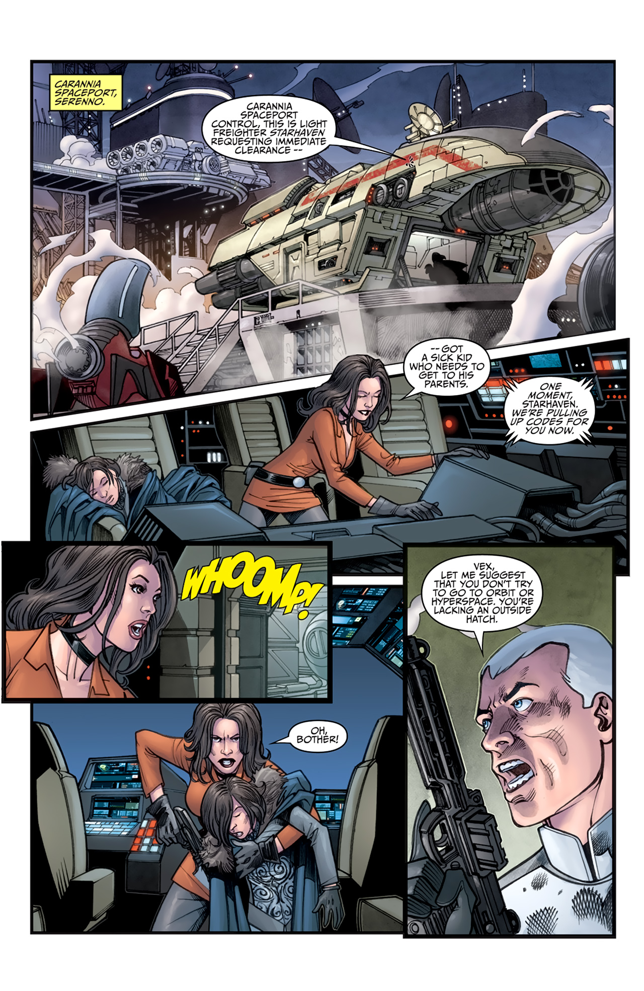 Read online Star Wars: Agent Of The Empire - Hard Targets comic -  Issue #3 - 6