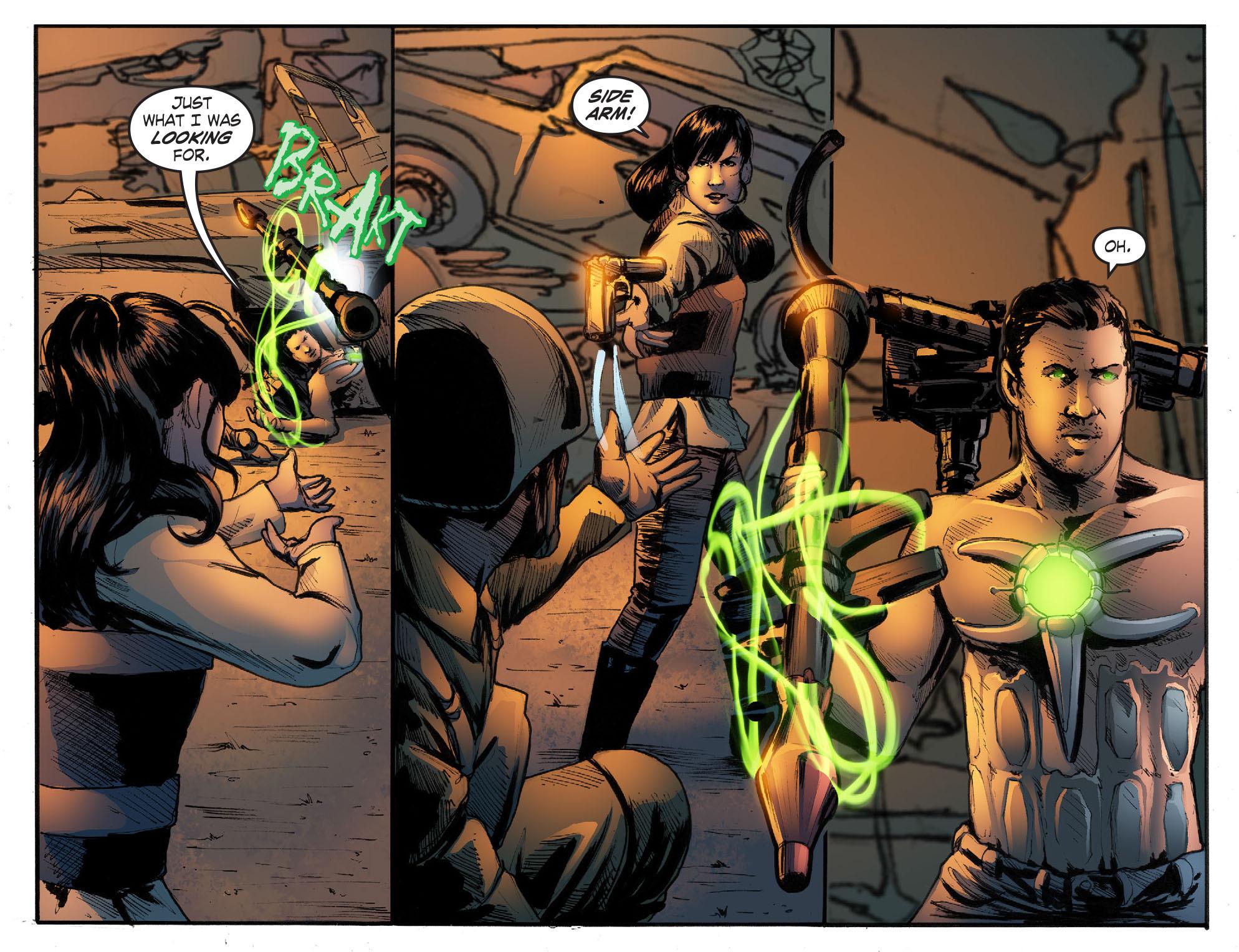 Read online Smallville: Season 11 comic -  Issue #50 - 16