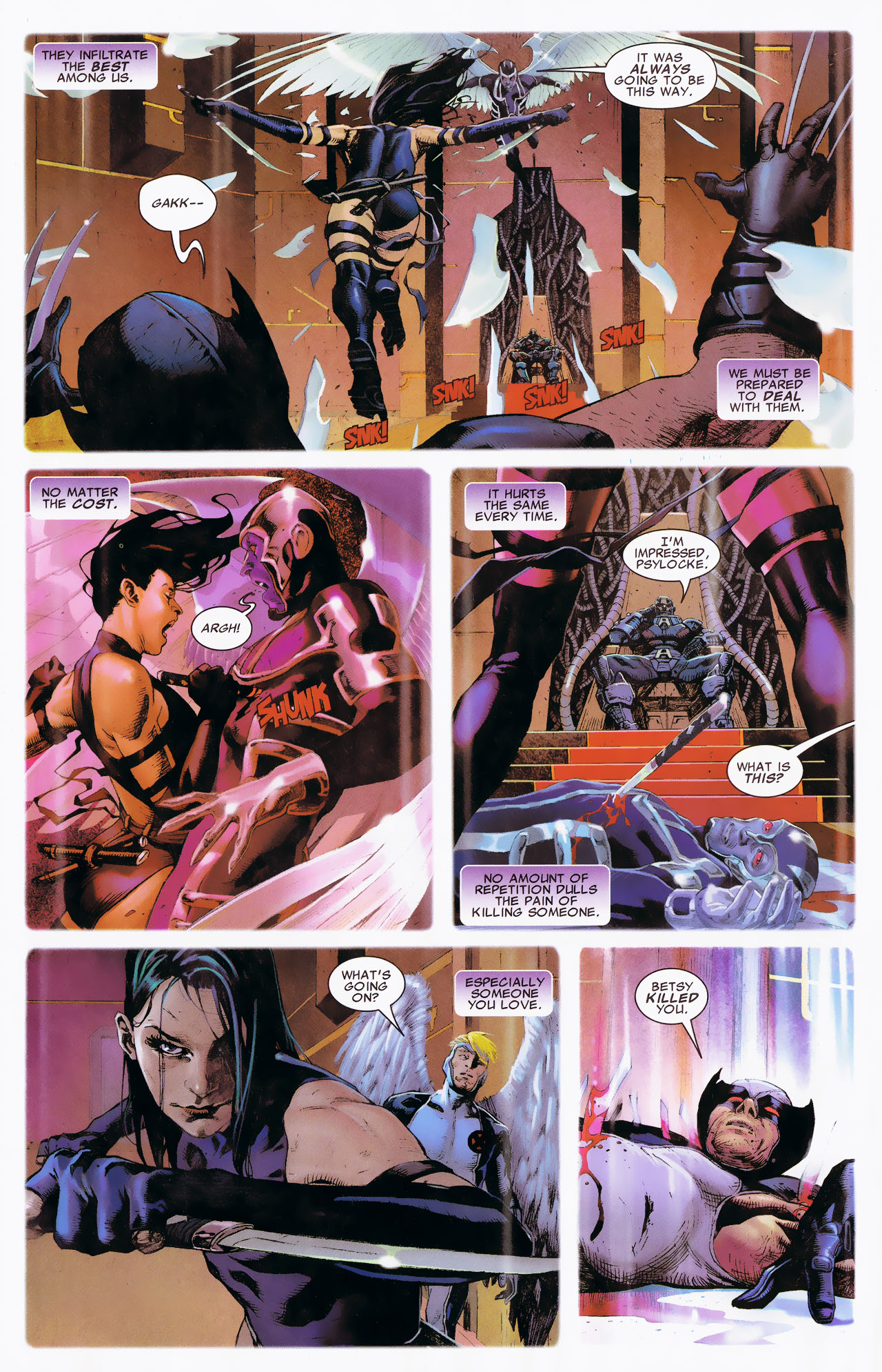 Read online Uncanny X-Force: The Apocalypse Solution comic -  Issue # Full - 32