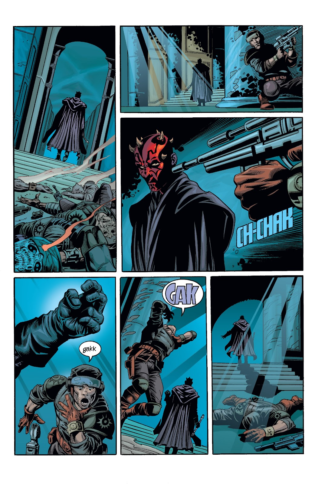 Read online Star Wars Legends: Rise of the Sith - Epic Collection comic -  Issue # TPB 2 (Part 3) - 3