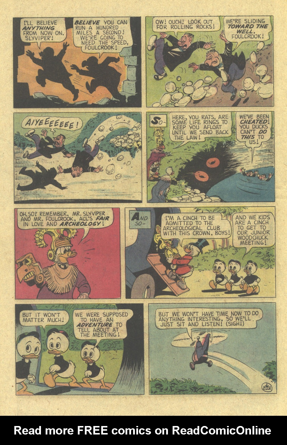 Read online Uncle Scrooge (1953) comic -  Issue #113 - 28