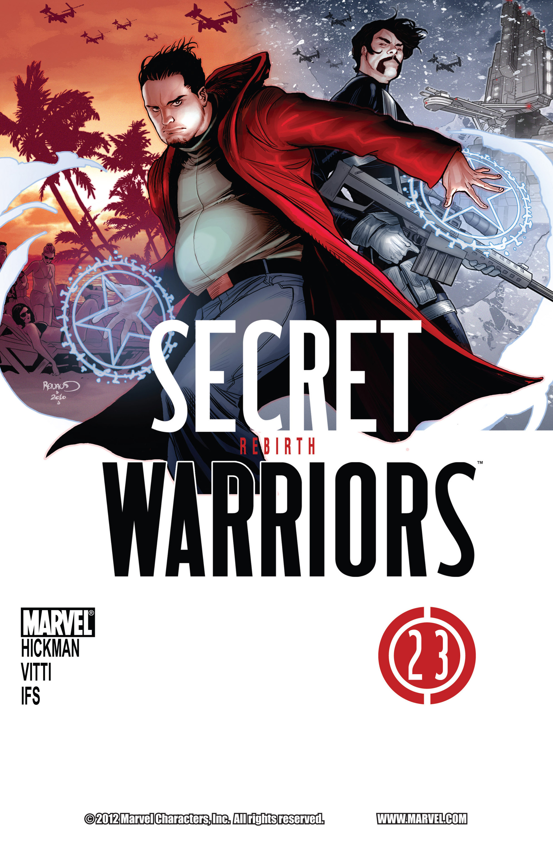 Read online Secret Warriors comic -  Issue #23 - 2