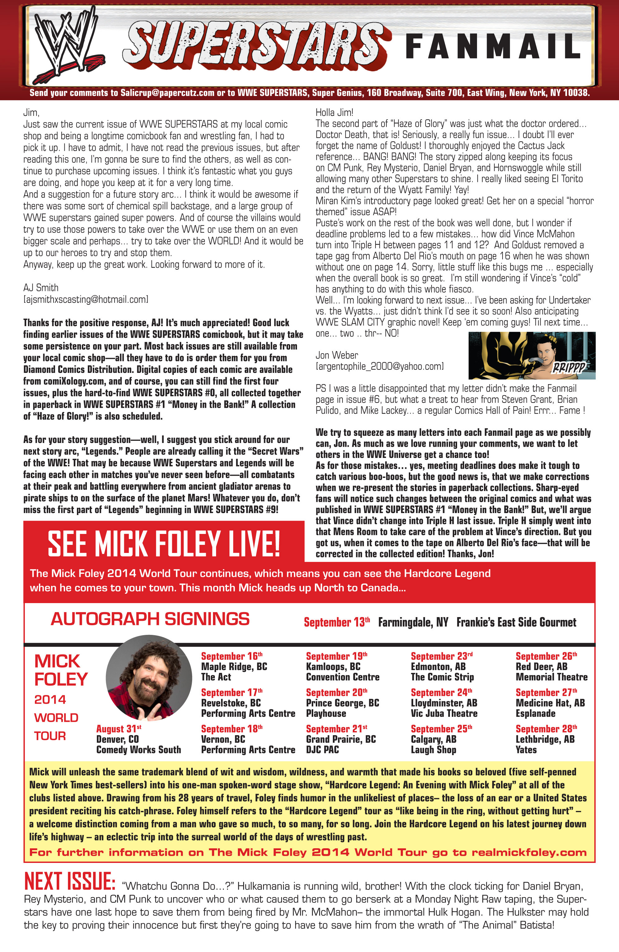Read online WWE Superstars comic -  Issue #7 - 28