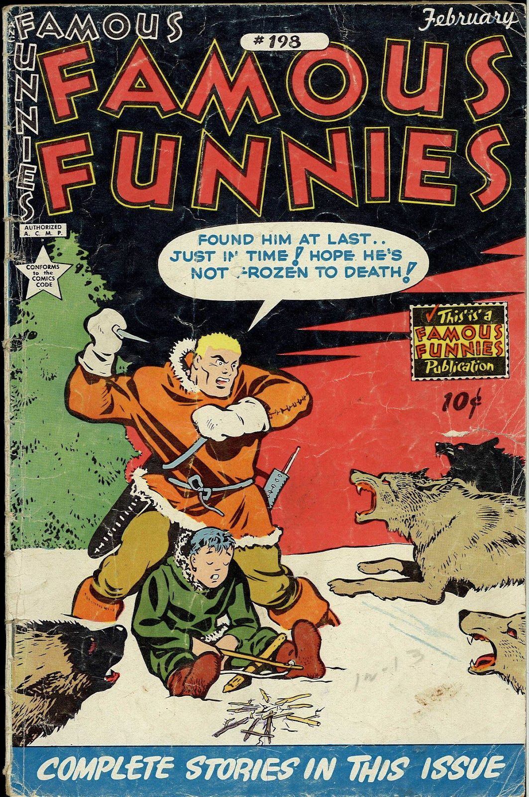Read online Famous Funnies comic -  Issue #198 - 1