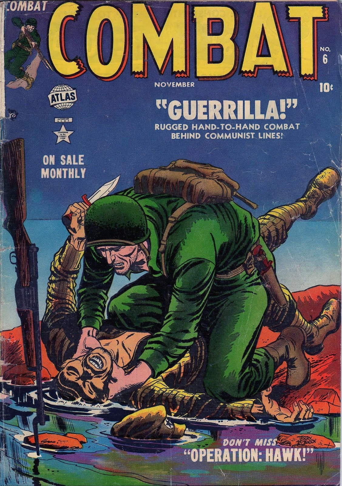 Combat (1952) issue 6 - Page 1