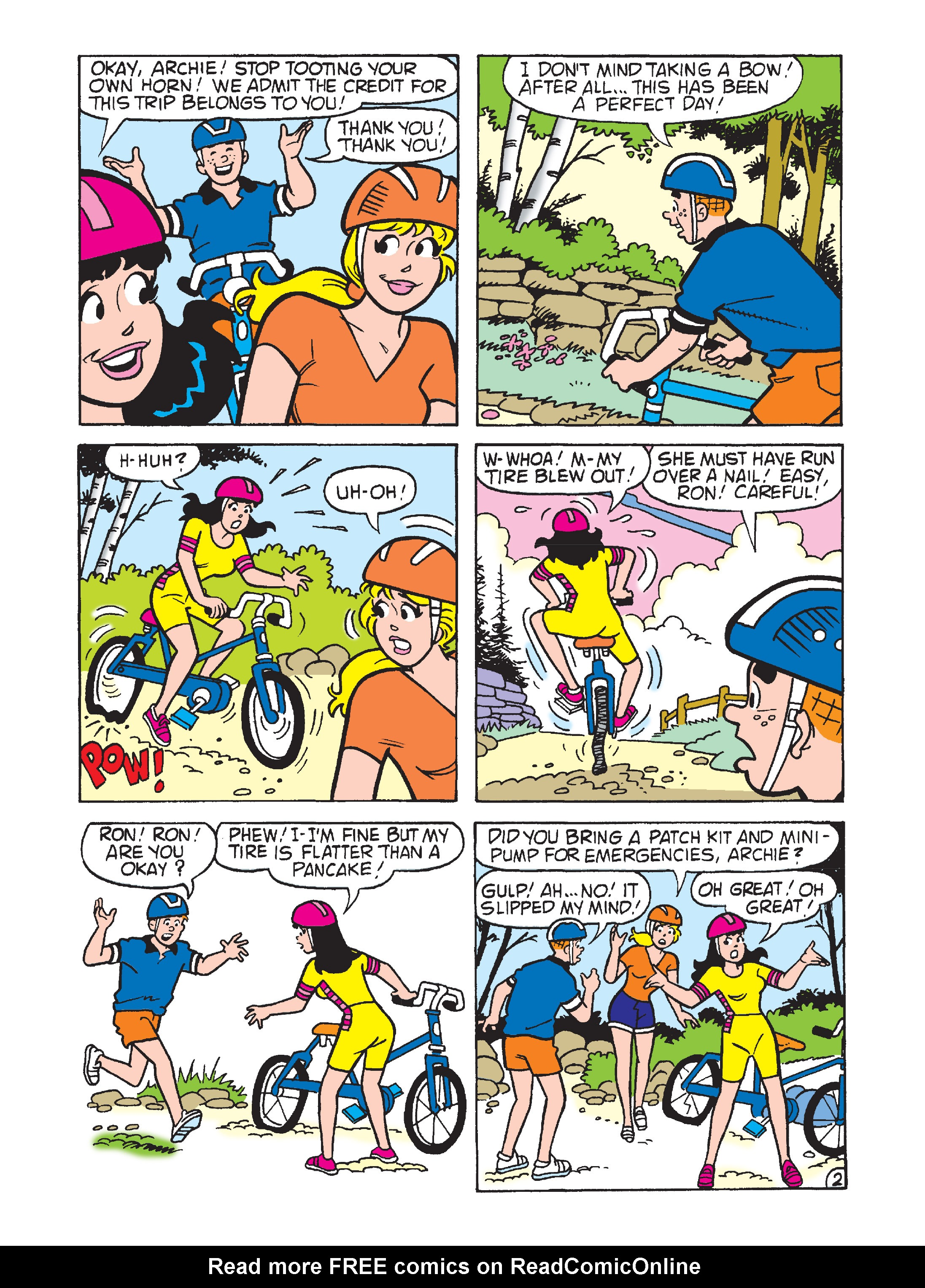 Read online Archie's Funhouse Double Digest comic -  Issue #7 - 8