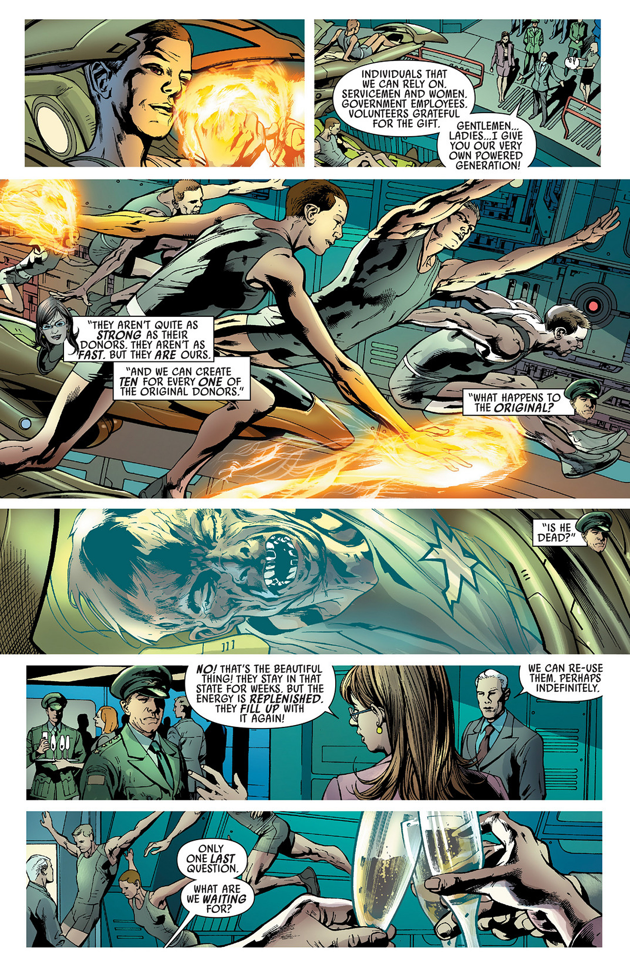 Read online America's Got Powers comic -  Issue #3 - 8