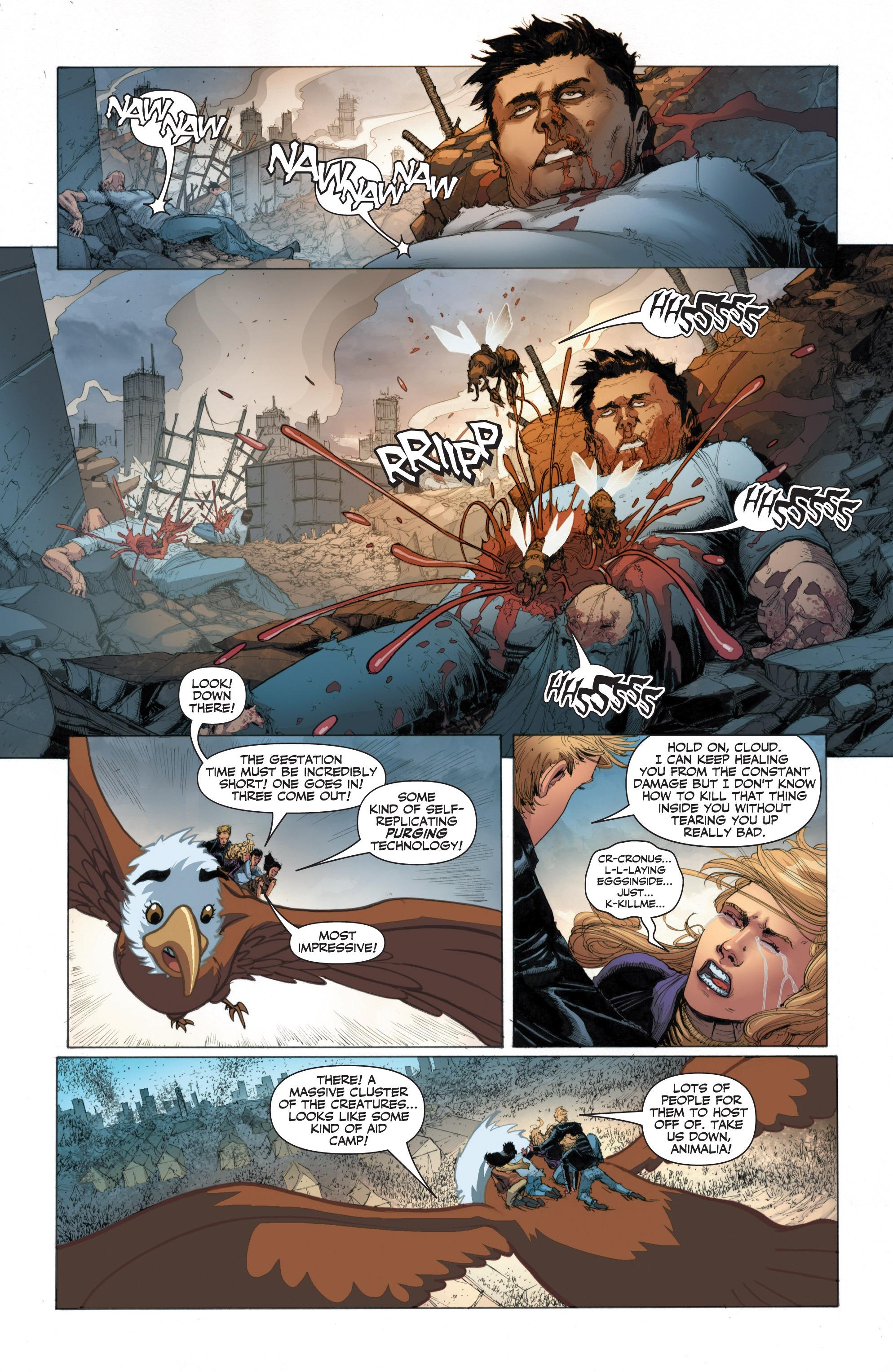 Read online Armor Hunters: Harbinger comic -  Issue # TPB - 65