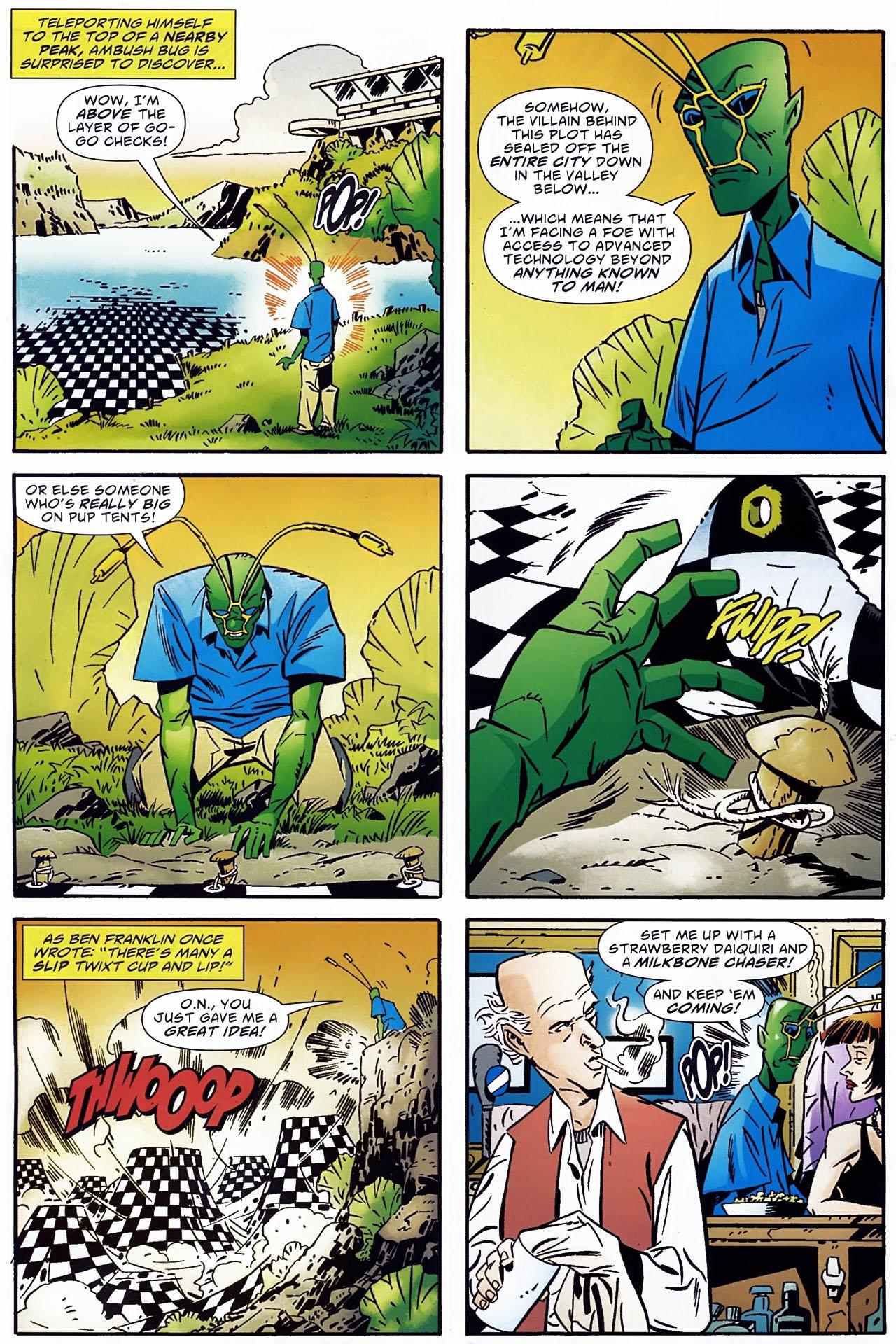 Read online Ambush Bug: Year None comic -  Issue #1 - 21