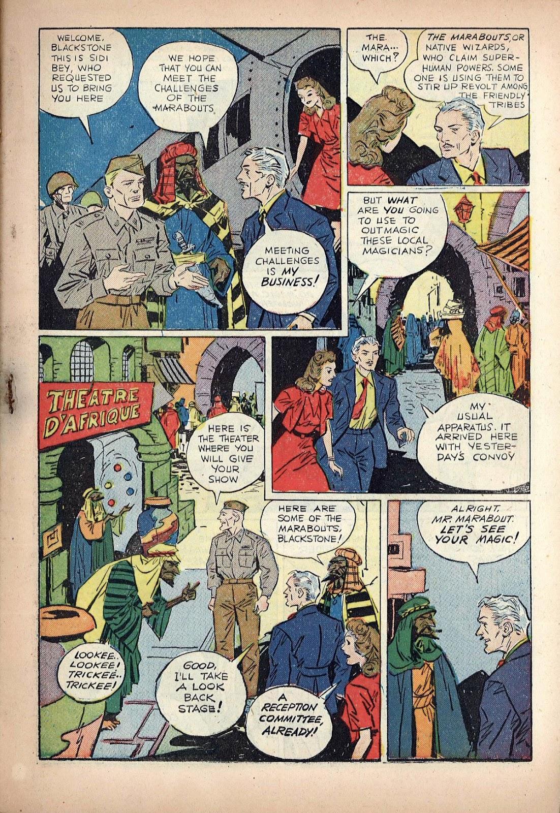 Read online Super-Magician Comics comic -  Issue #20 - 5