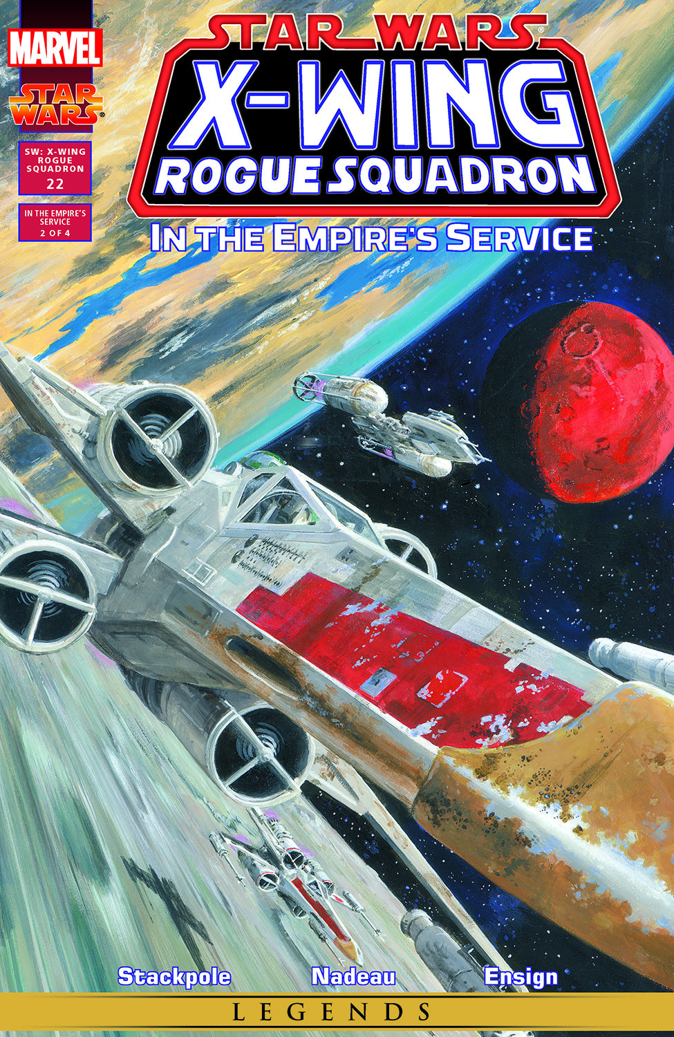 Comic Star Wars: X-Wing Rogue Squadron issue 23