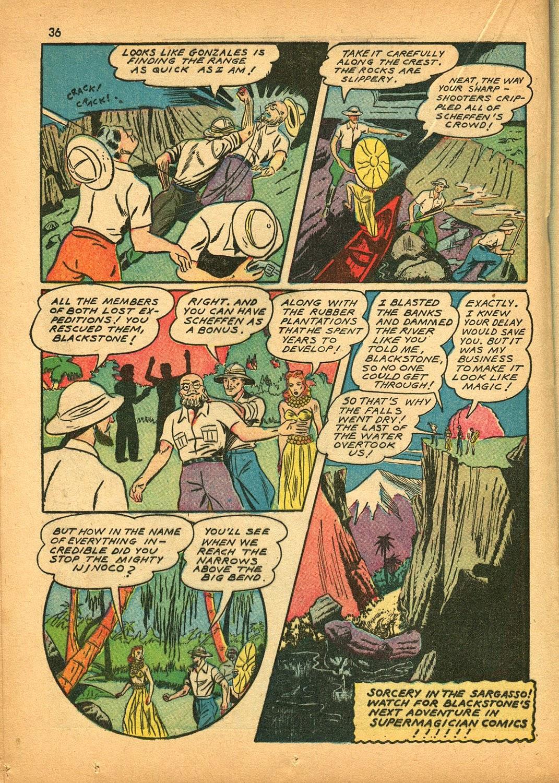 Read online Super-Magician Comics comic -  Issue #9 - 35