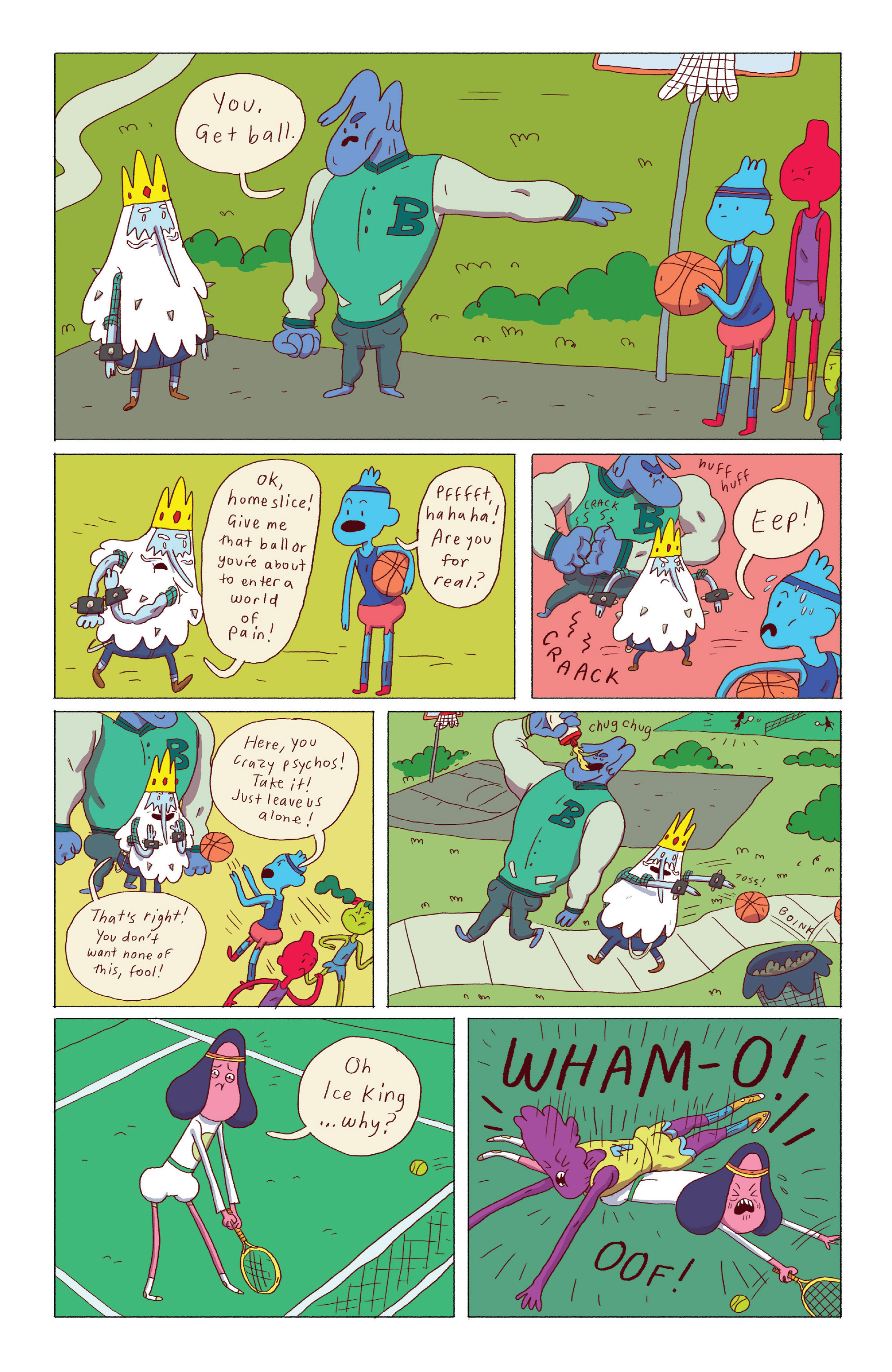 Read online Adventure Time: Ice King comic -  Issue #3 - 15