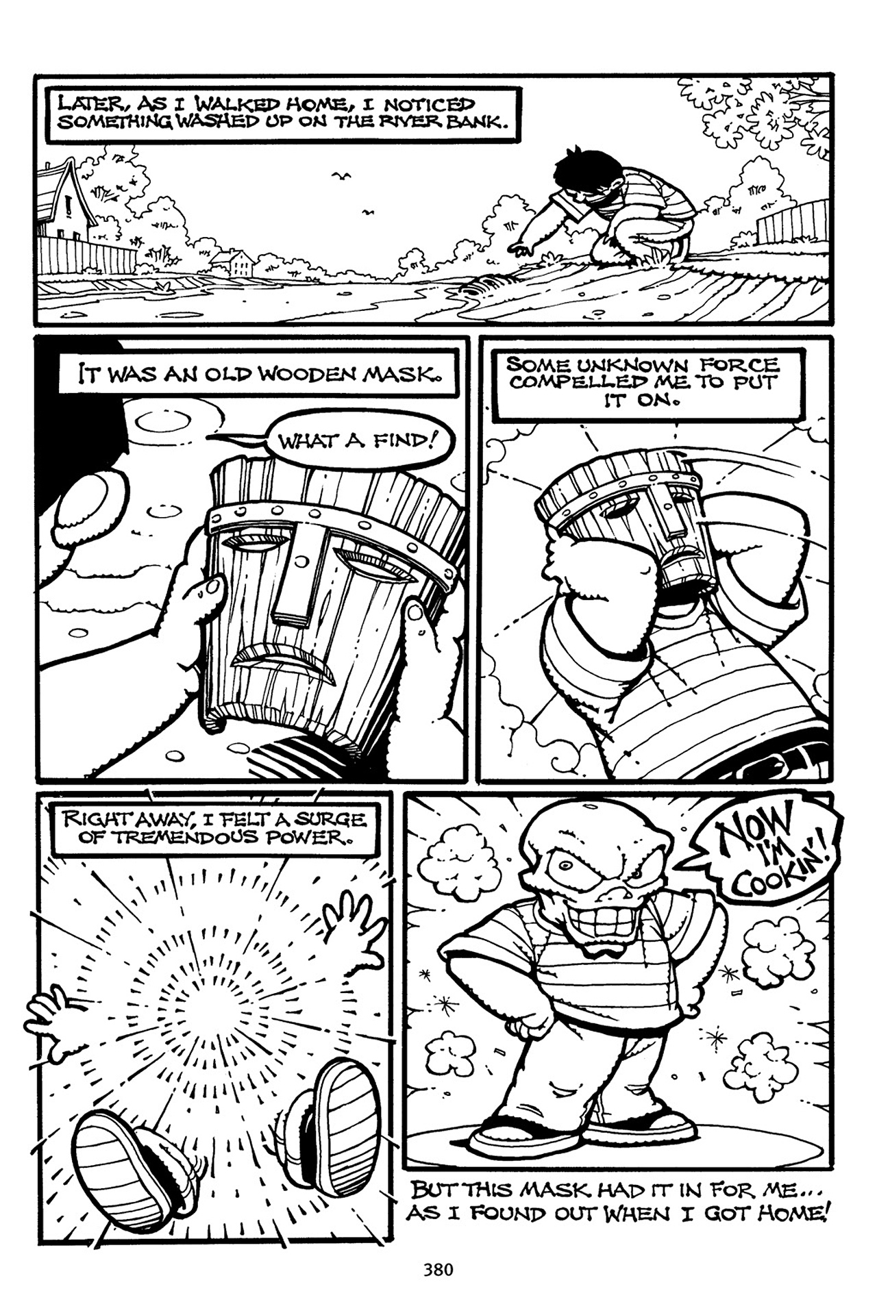 Read online Adventures Of The Mask Omnibus comic -  Issue #Adventures Of The Mask Omnibus Full - 379