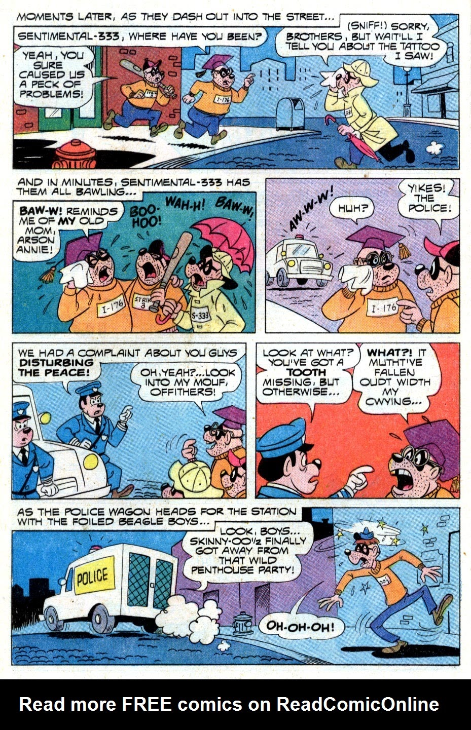 Walt Disney THE BEAGLE BOYS issue 15 - Page 16