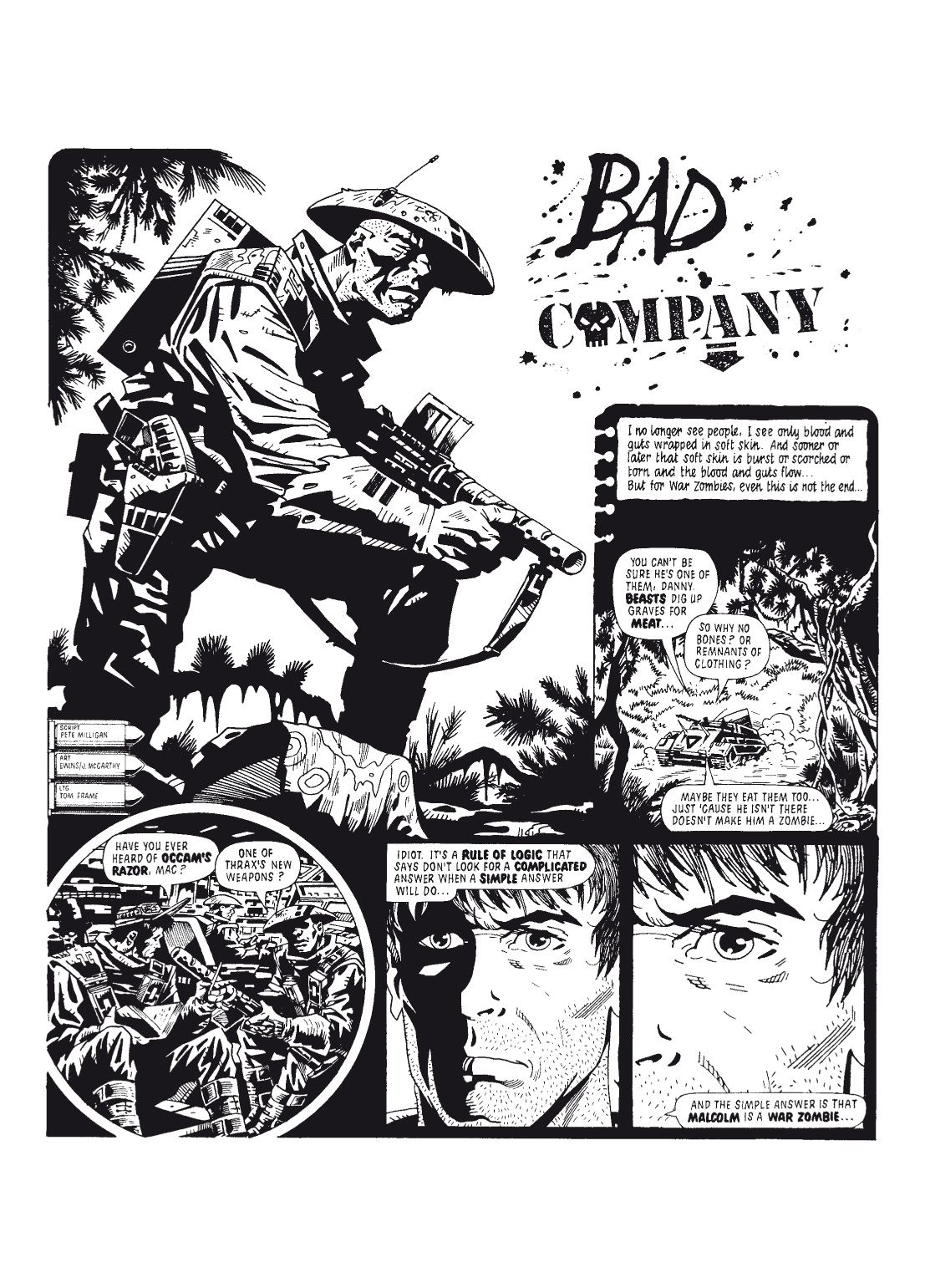 Read online The Complete Bad Company comic -  Issue # TPB - 62