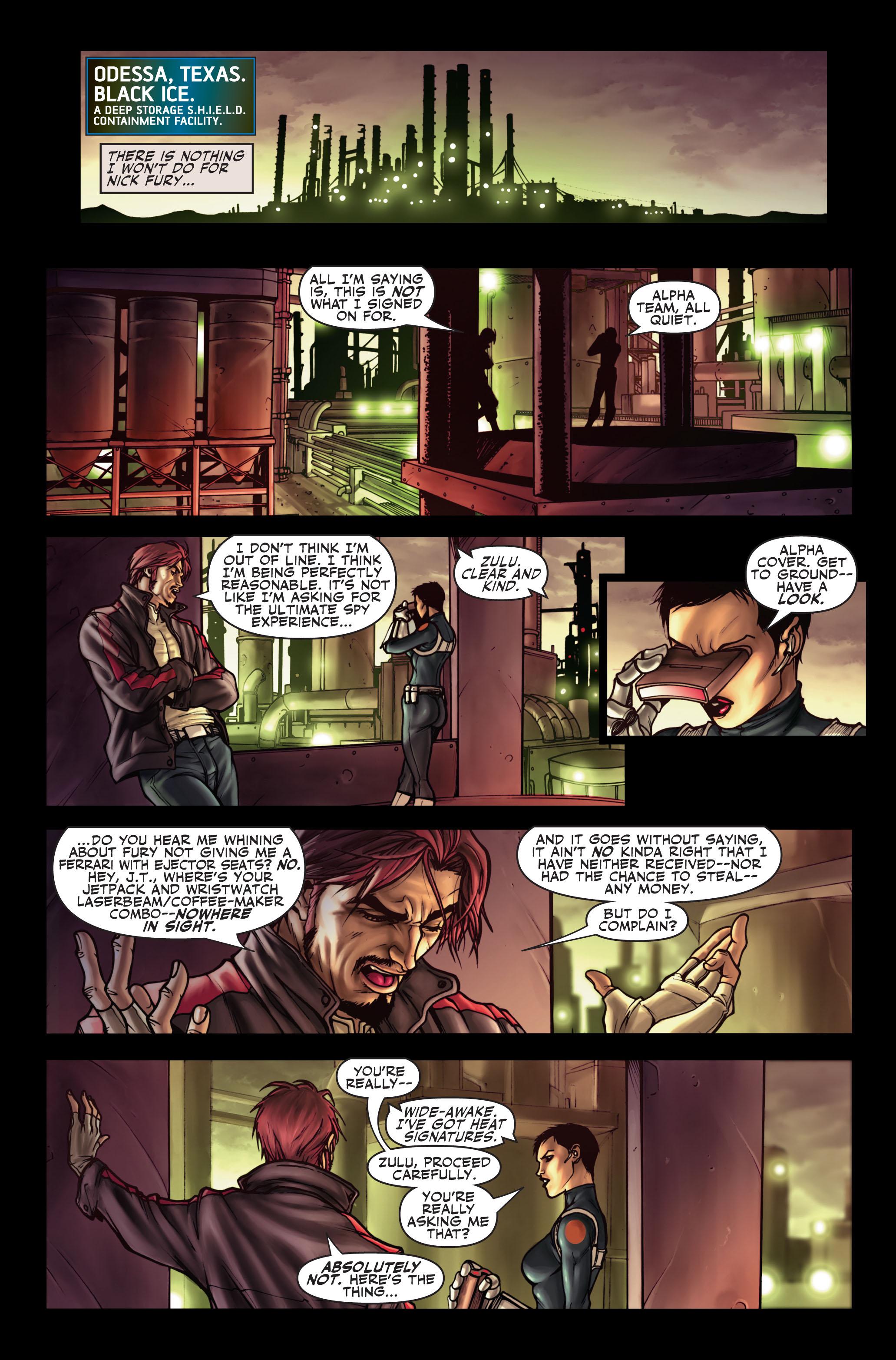 Read online Secret Warriors comic -  Issue #1 - 4