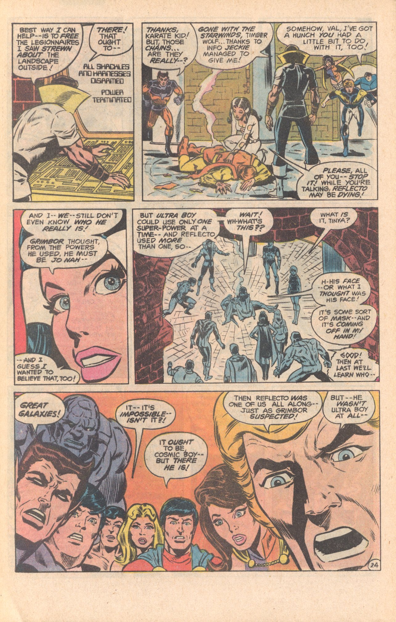 Legion of Super-Heroes (1980) 279 Page 24