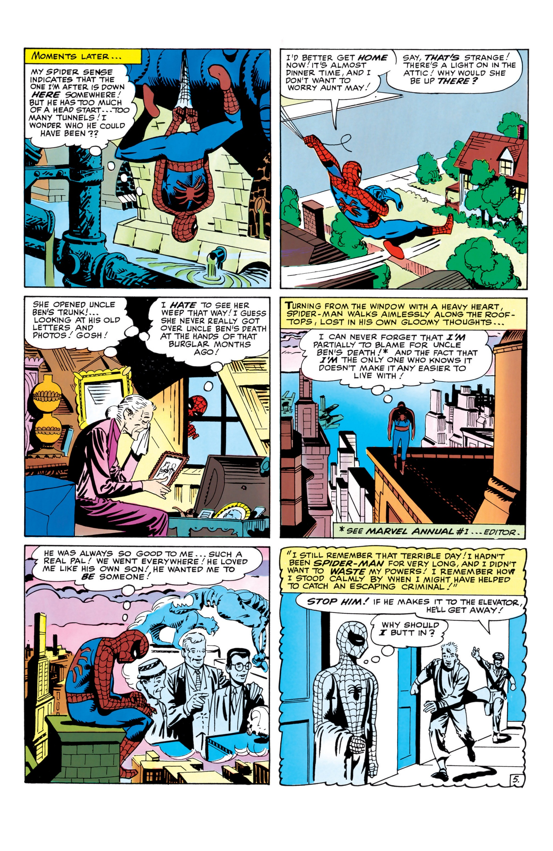 The Amazing Spider-Man (1963) _Annual_1 Page 5