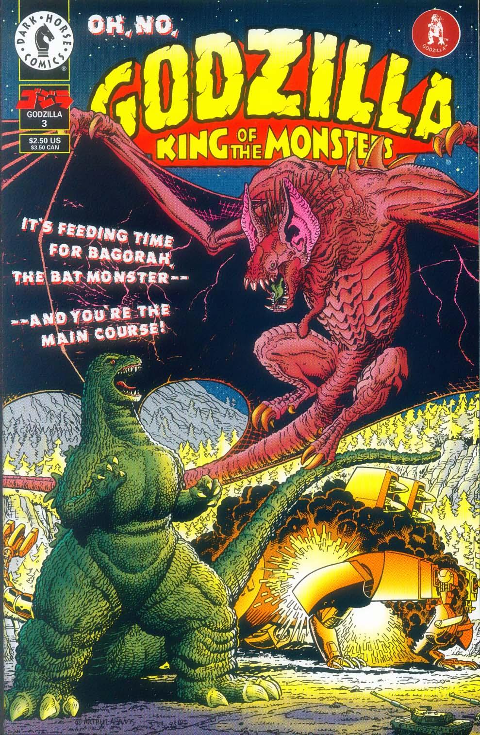 Godzilla (1995) Issue #3 #4 - English 2