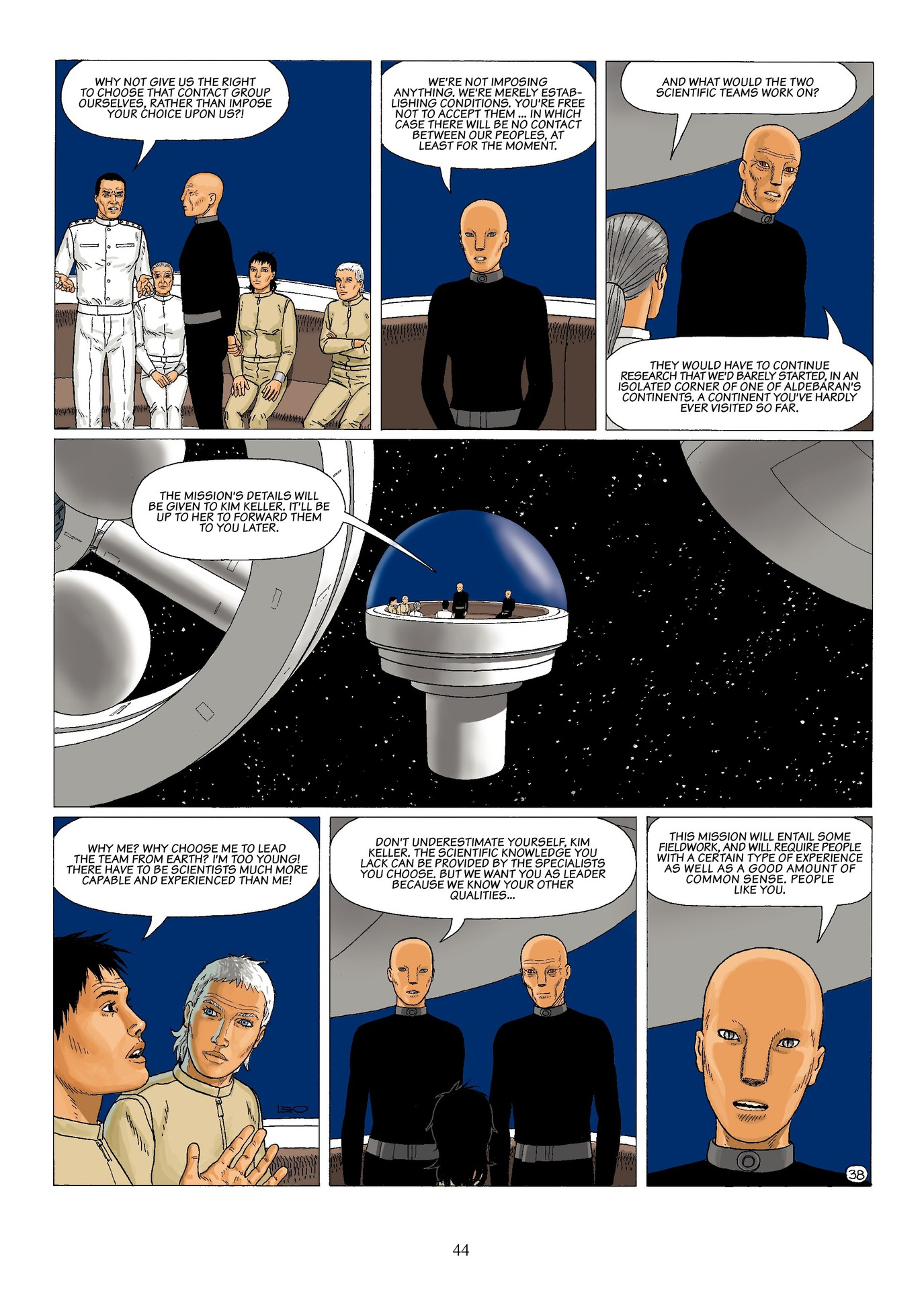 Read online Antares comic -  Issue #6 - 46