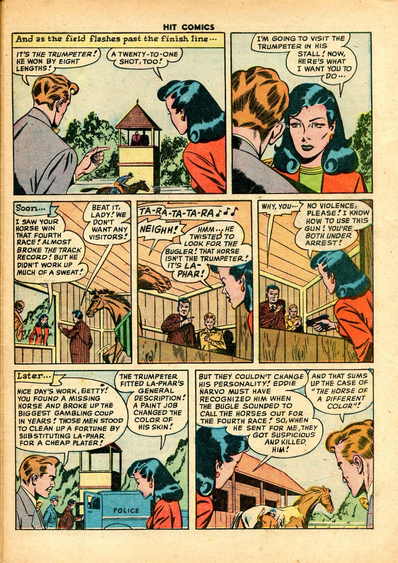 Read online Hit Comics comic -  Issue #59 - 33