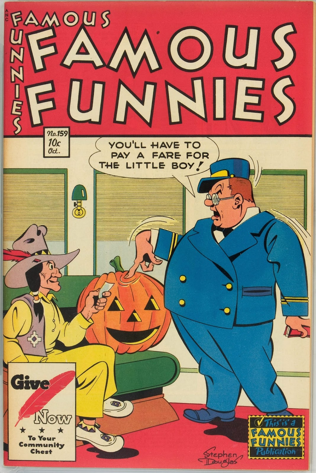 Read online Famous Funnies comic -  Issue #159 - 1