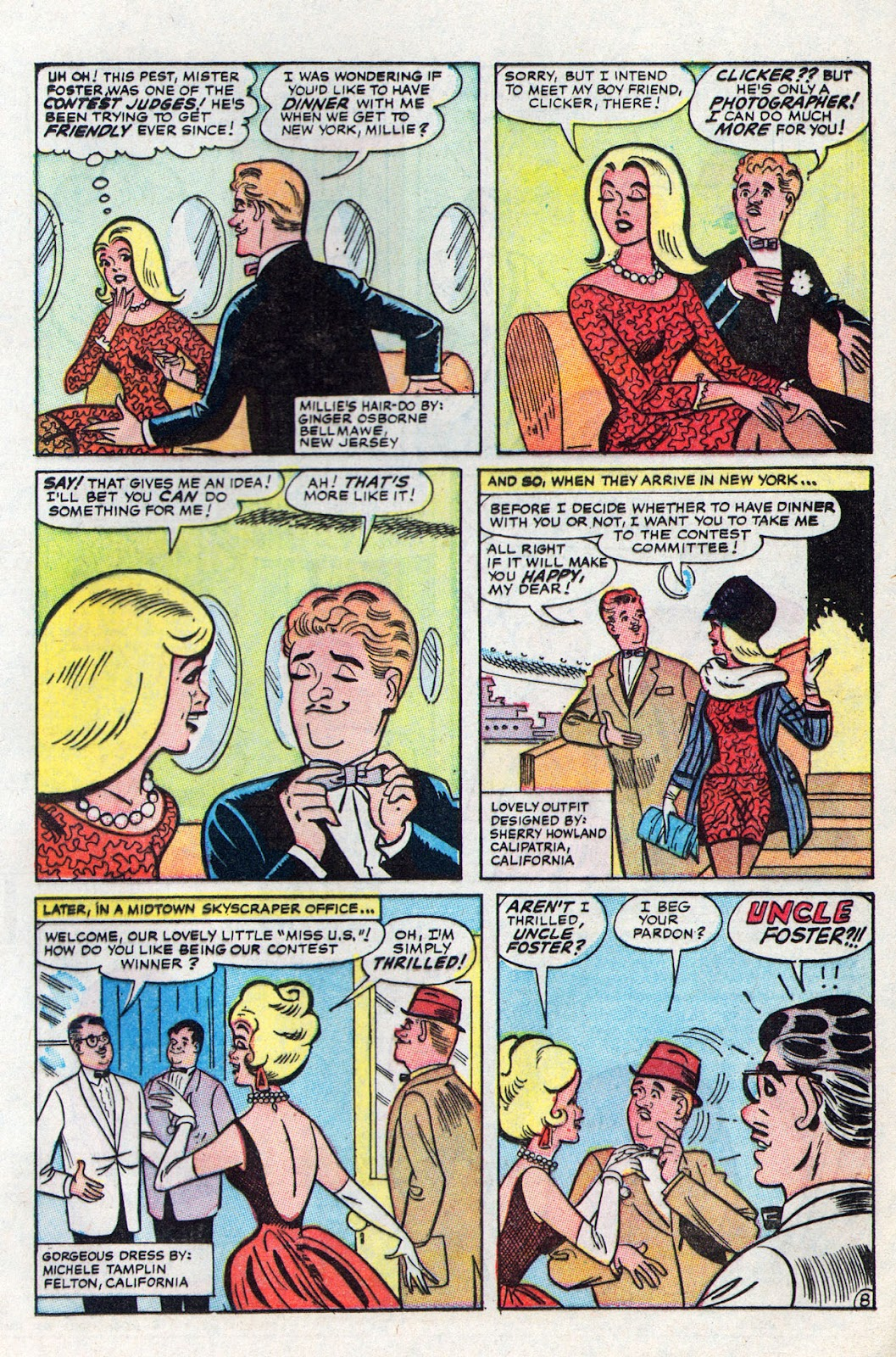 Read online Millie the Model comic -  Issue # Annual 6 - 57