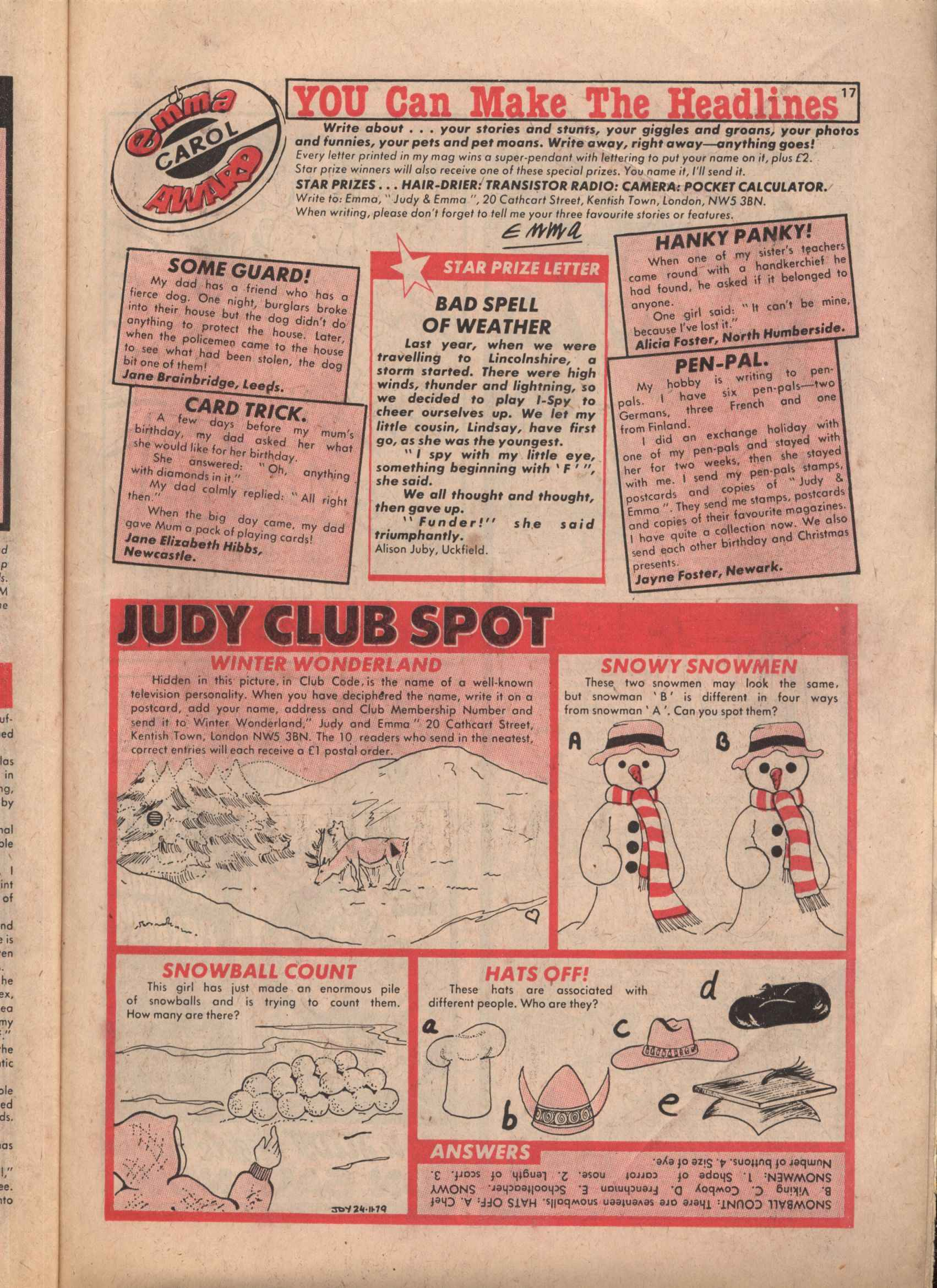 Read online Judy comic -  Issue #37 - 17