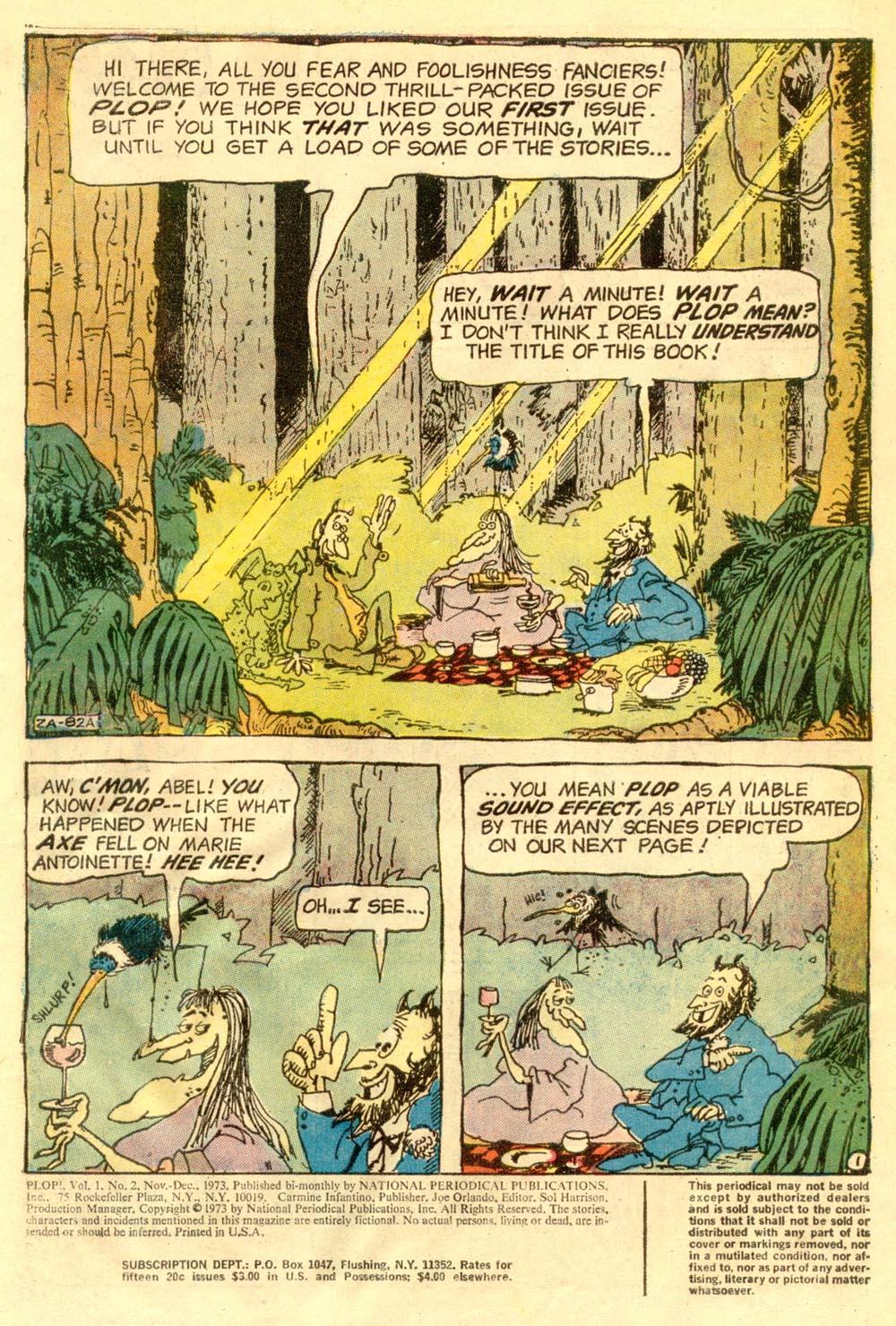Read online Plop! comic -  Issue #2 - 3
