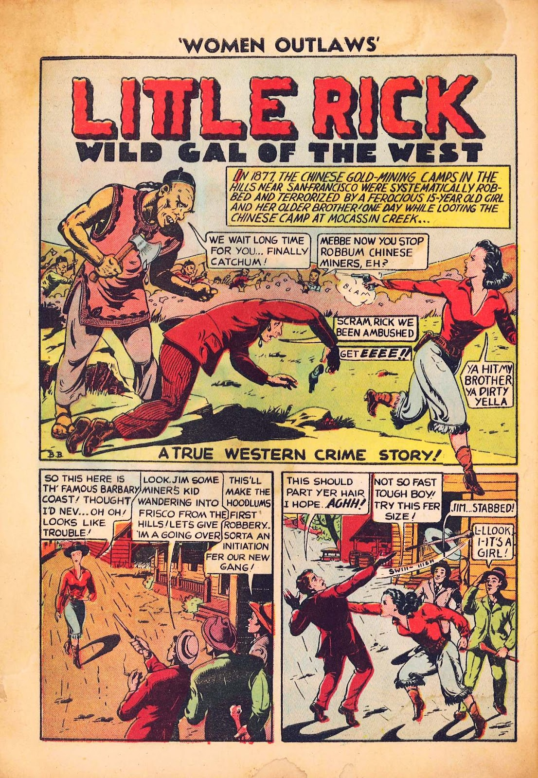 Read online Women Outlaws comic -  Issue #2 - 28