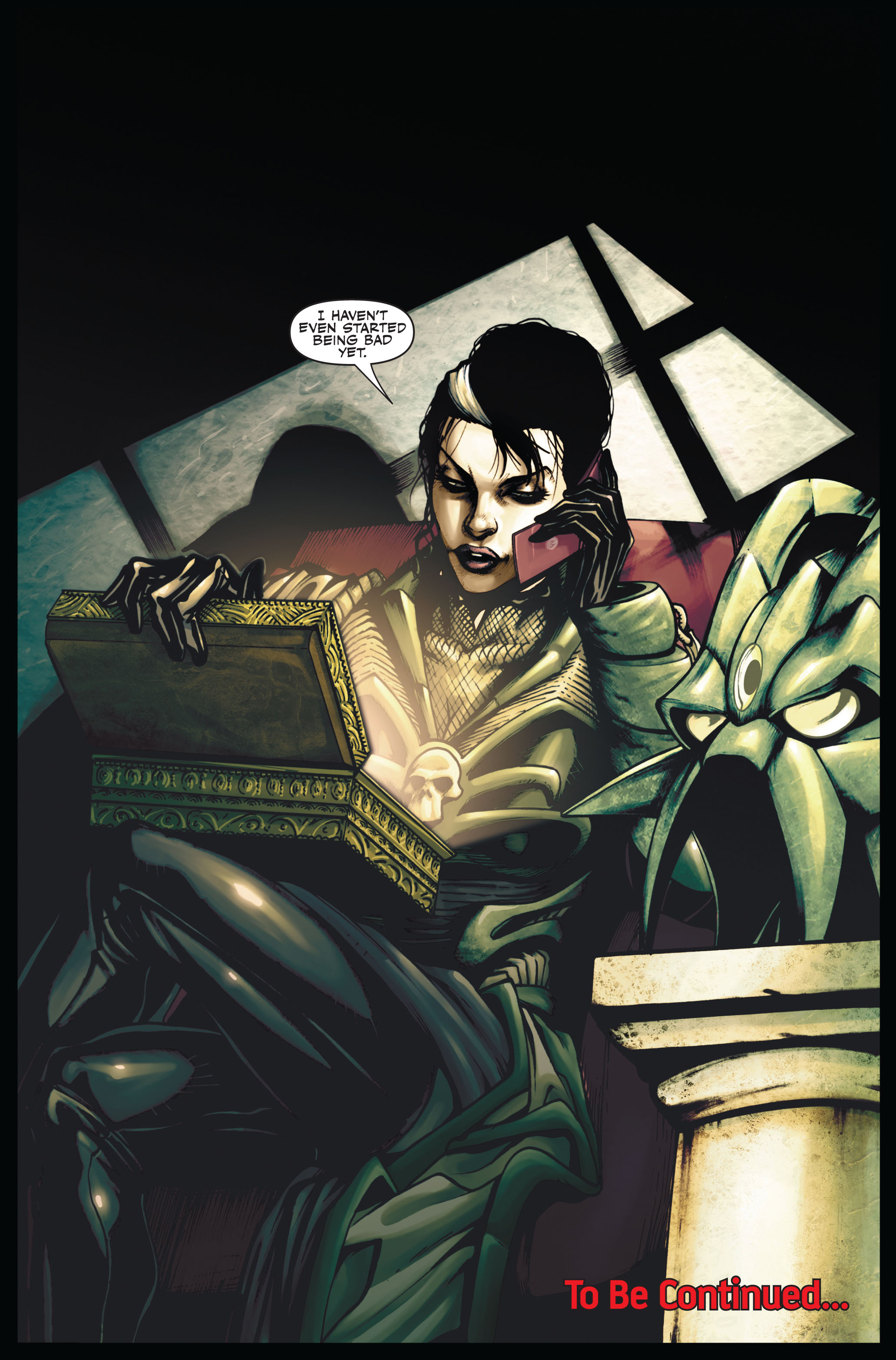 Read online Secret Warriors comic -  Issue #6 - 23