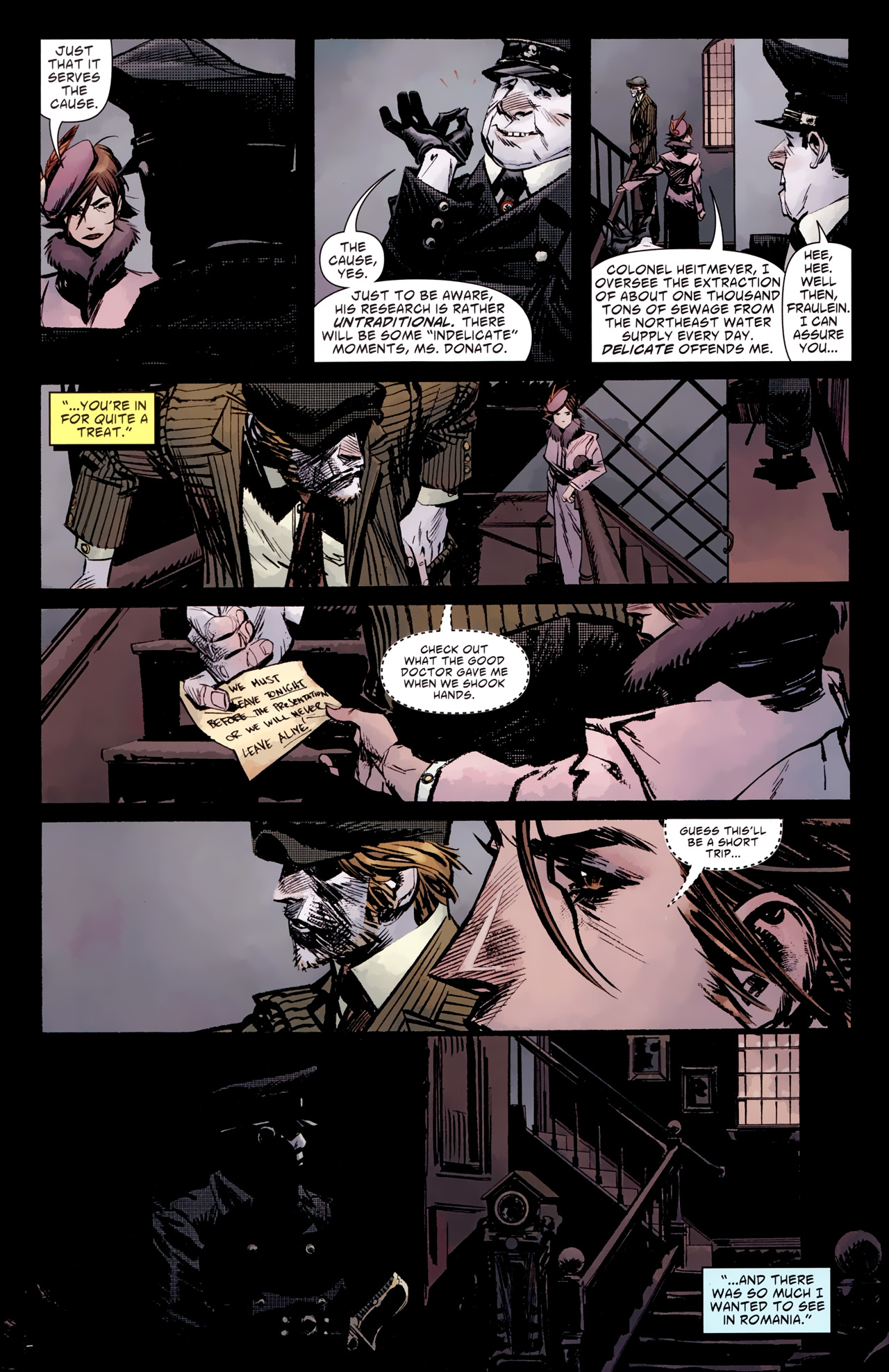 Read online American Vampire: Survival of the Fittest comic -  Issue #2 - 15
