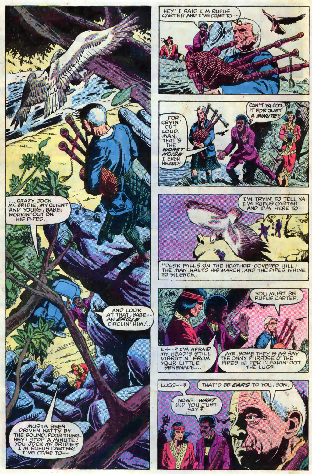 Read online Master of Kung Fu (1974) comic -  Issue #120 - 7