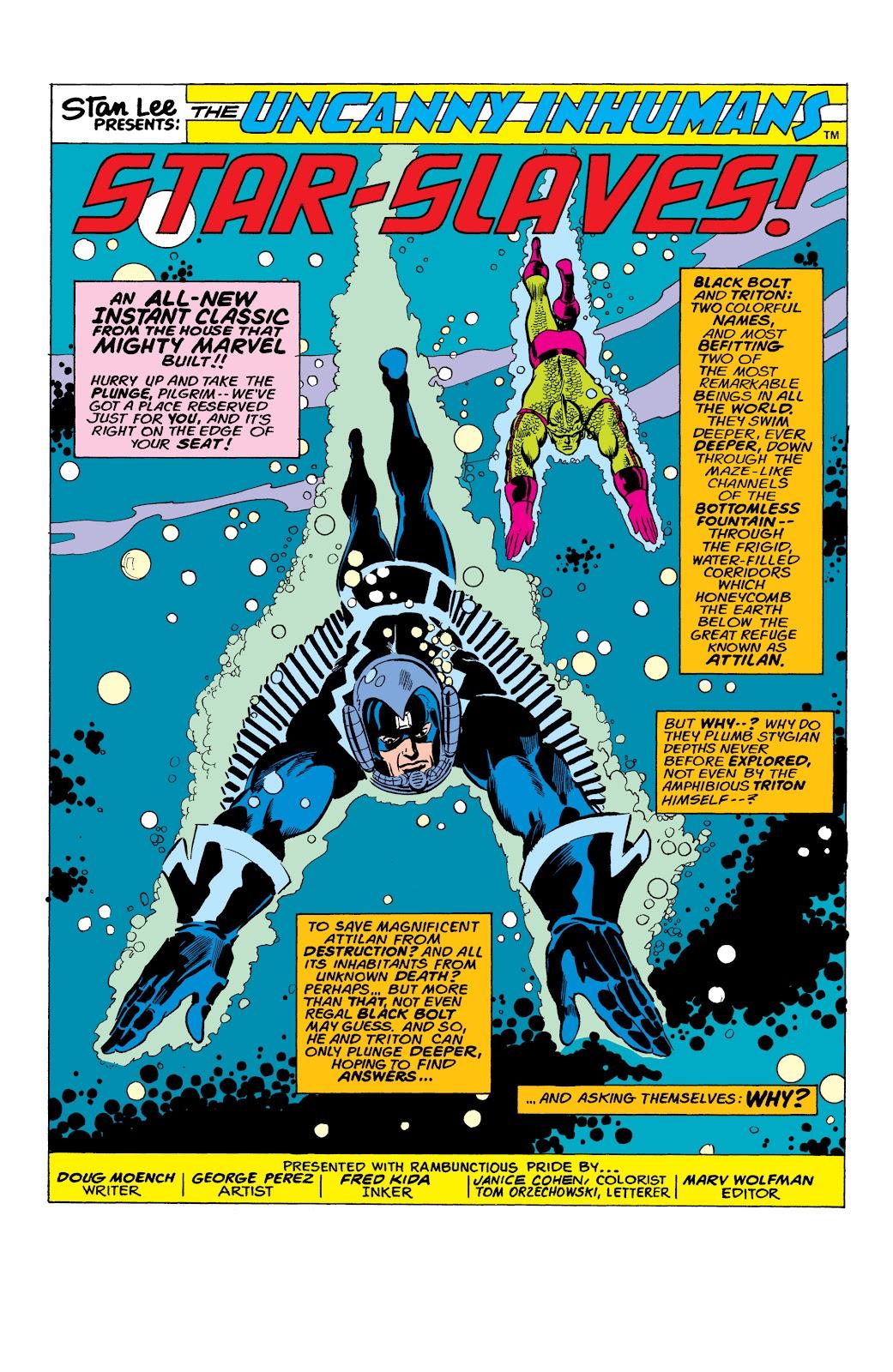 Read online Marvel Masterworks: The Inhumans comic -  Issue # TPB 2 (Part 1) - 27