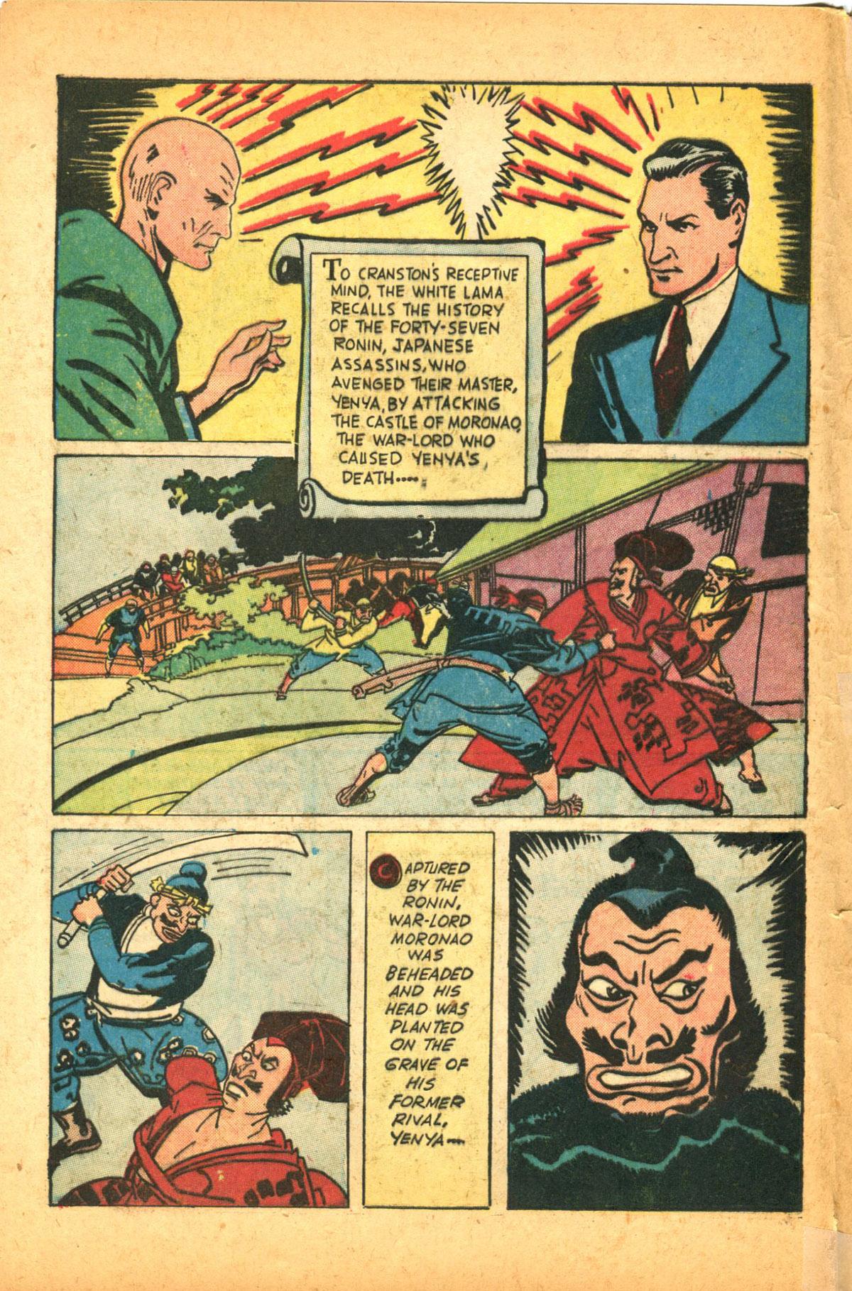 Read online Shadow Comics comic -  Issue #38 - 6