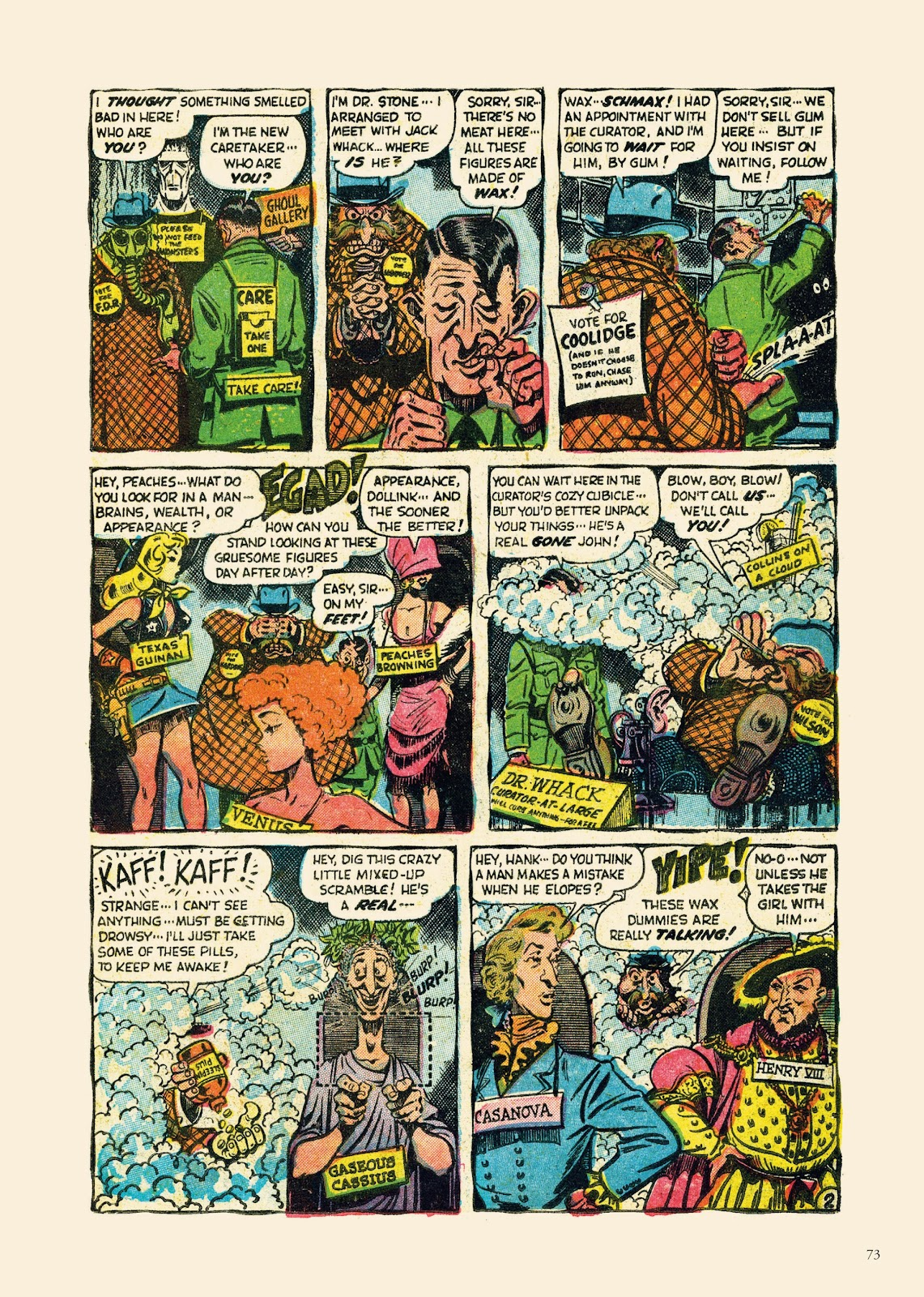 Read online Sincerest Form of Parody: The Best 1950s MAD-Inspired Satirical Comics comic -  Issue # TPB (Part 1) - 74