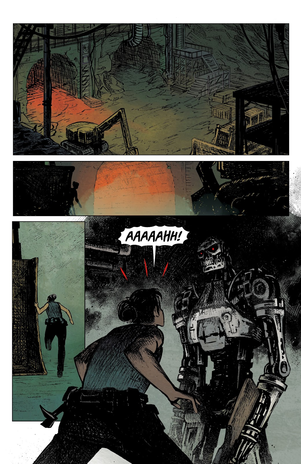 Read online The Terminator: Sector War comic -  Issue #4 - 8