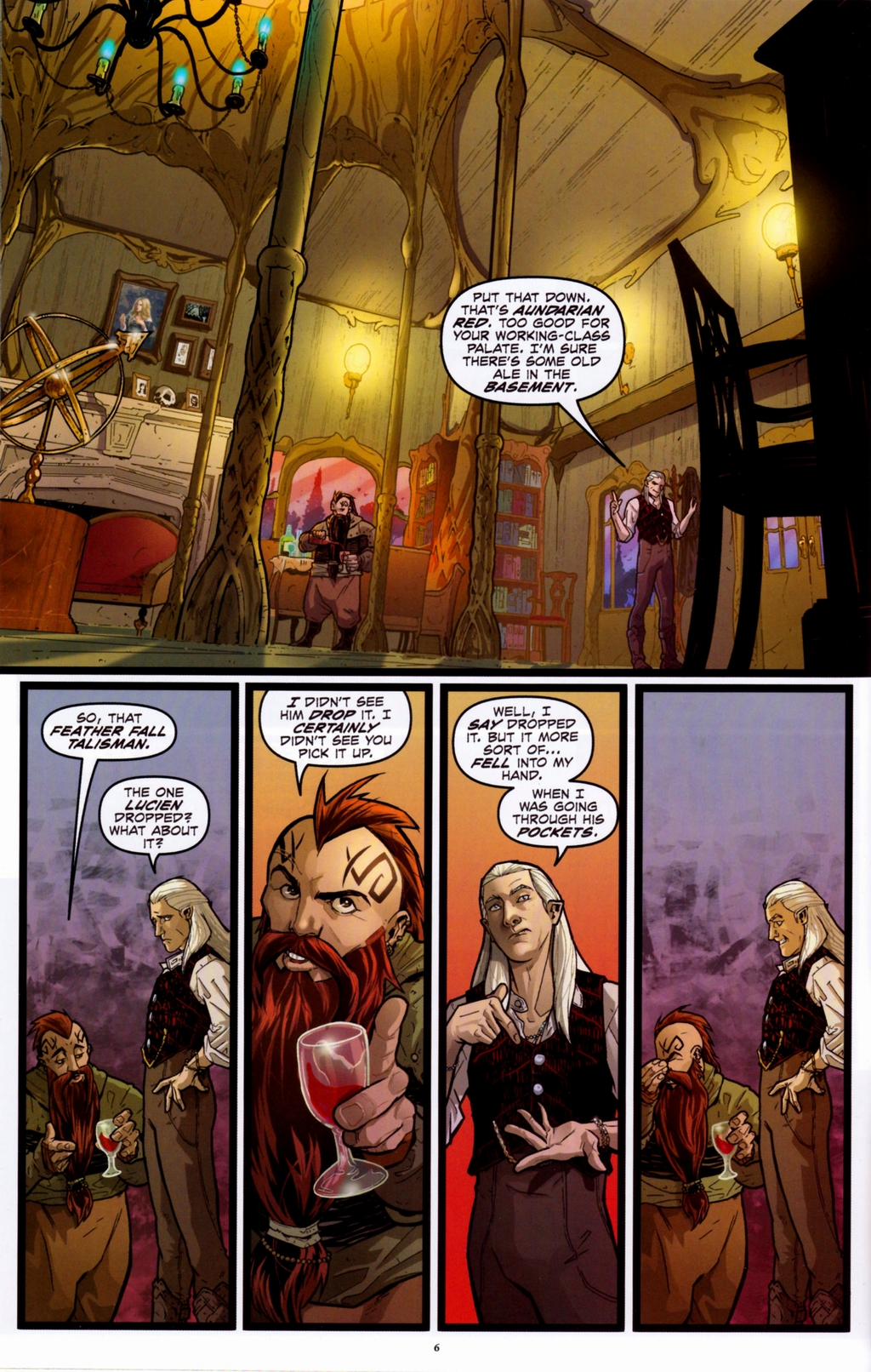 Read online Infestation 2: Dungeons & Dragons comic -  Issue #1 - 9