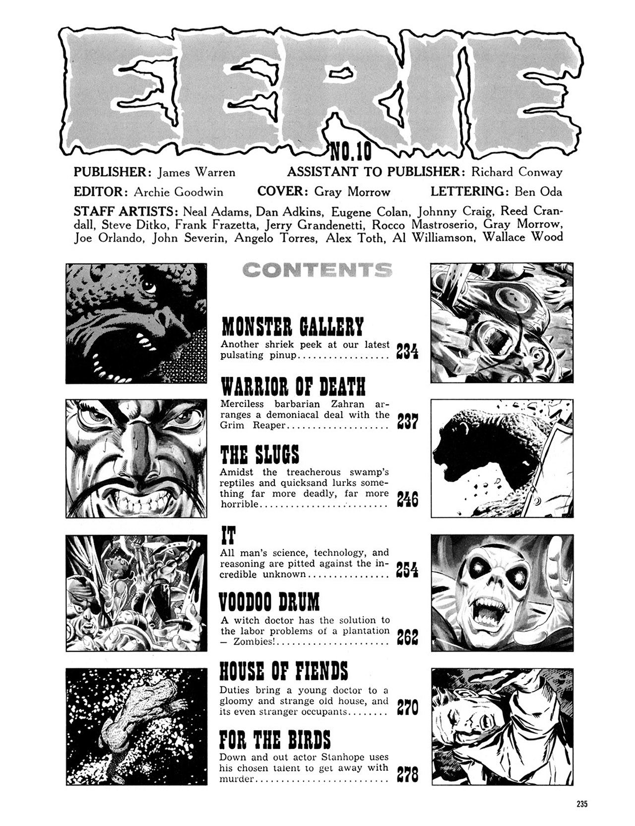 Read online Eerie Archives comic -  Issue # TPB 2 - 236