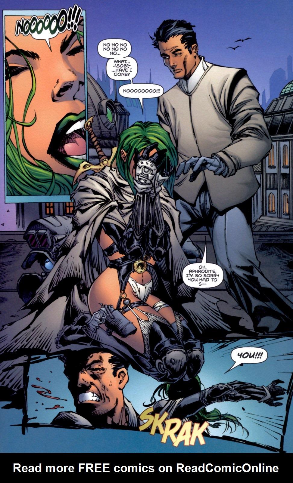 Read online Aphrodite IX (2000) comic -  Issue #4 - 30