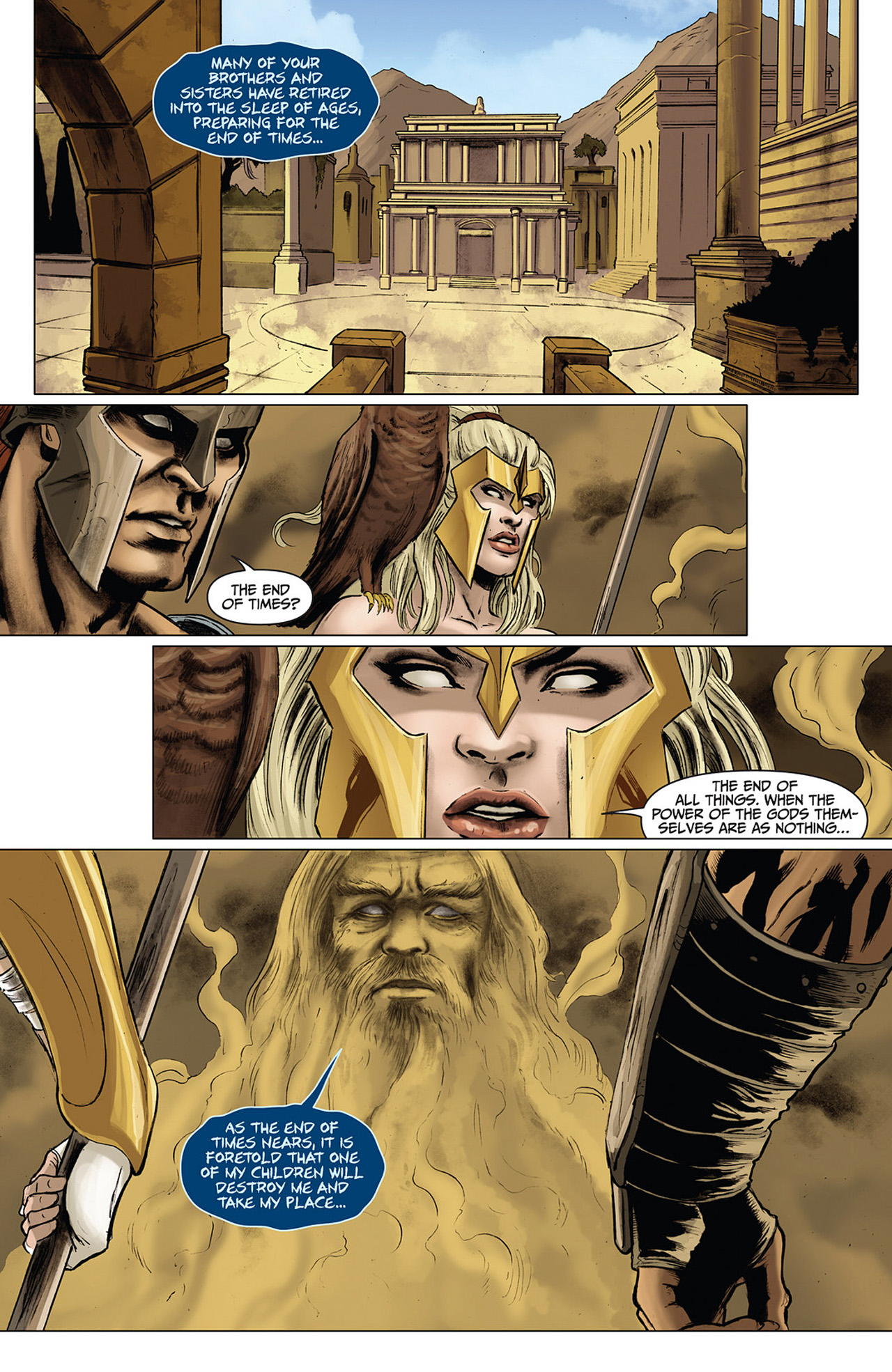 Read online Athena comic -  Issue #3 - 12