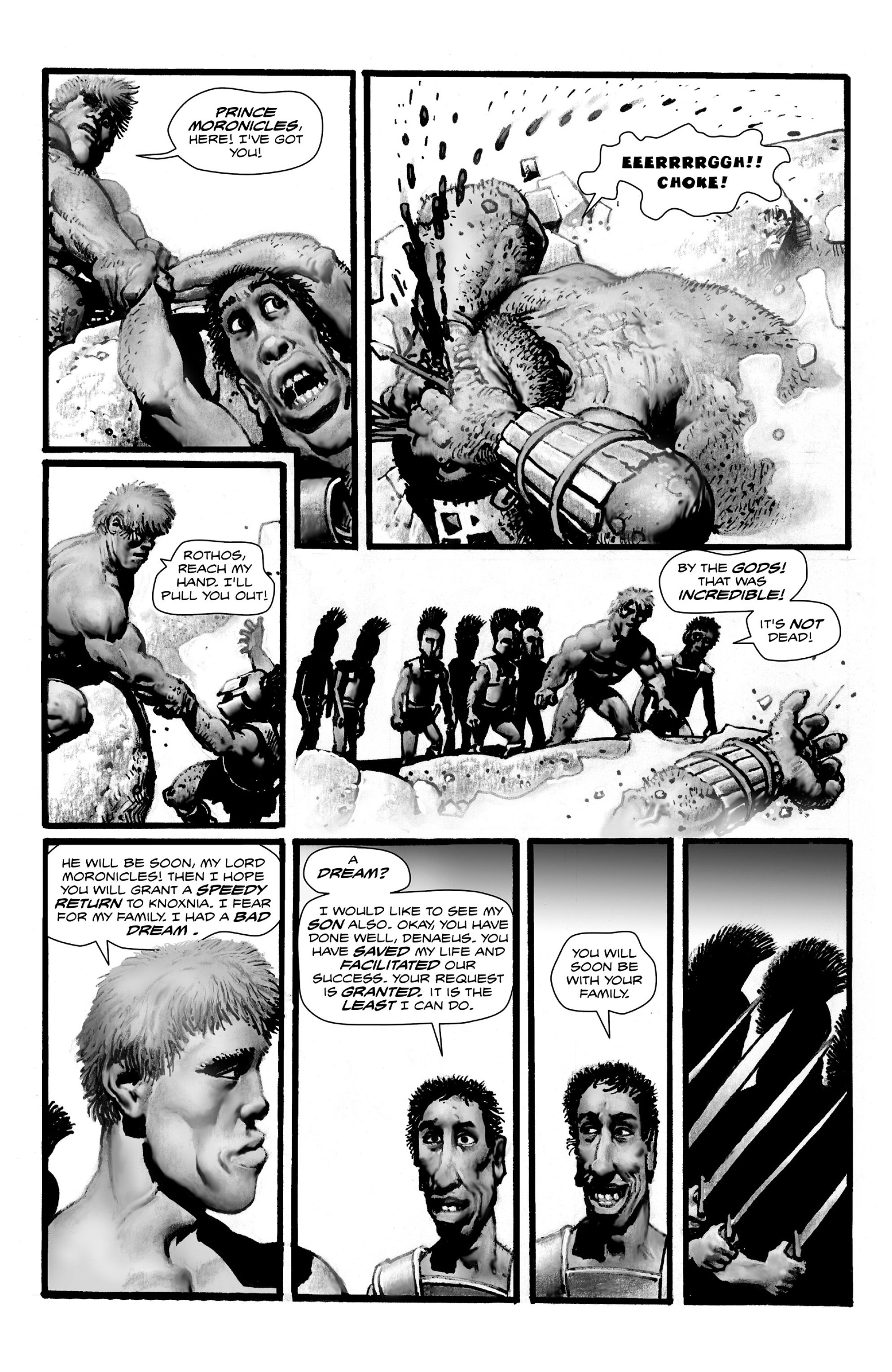 Read online Shadows on the Grave comic -  Issue #4 - 28