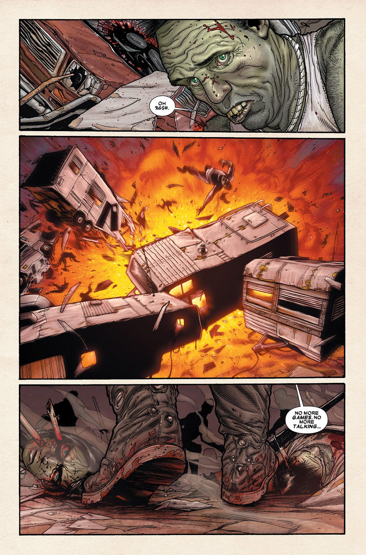 Read online Wolverine: Old Man Logan comic -  Issue # Full - 178