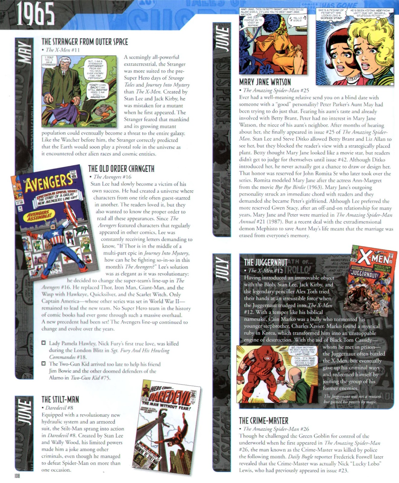 Read online Marvel Chronicle comic -  Issue # TPB (Part 2) - 8