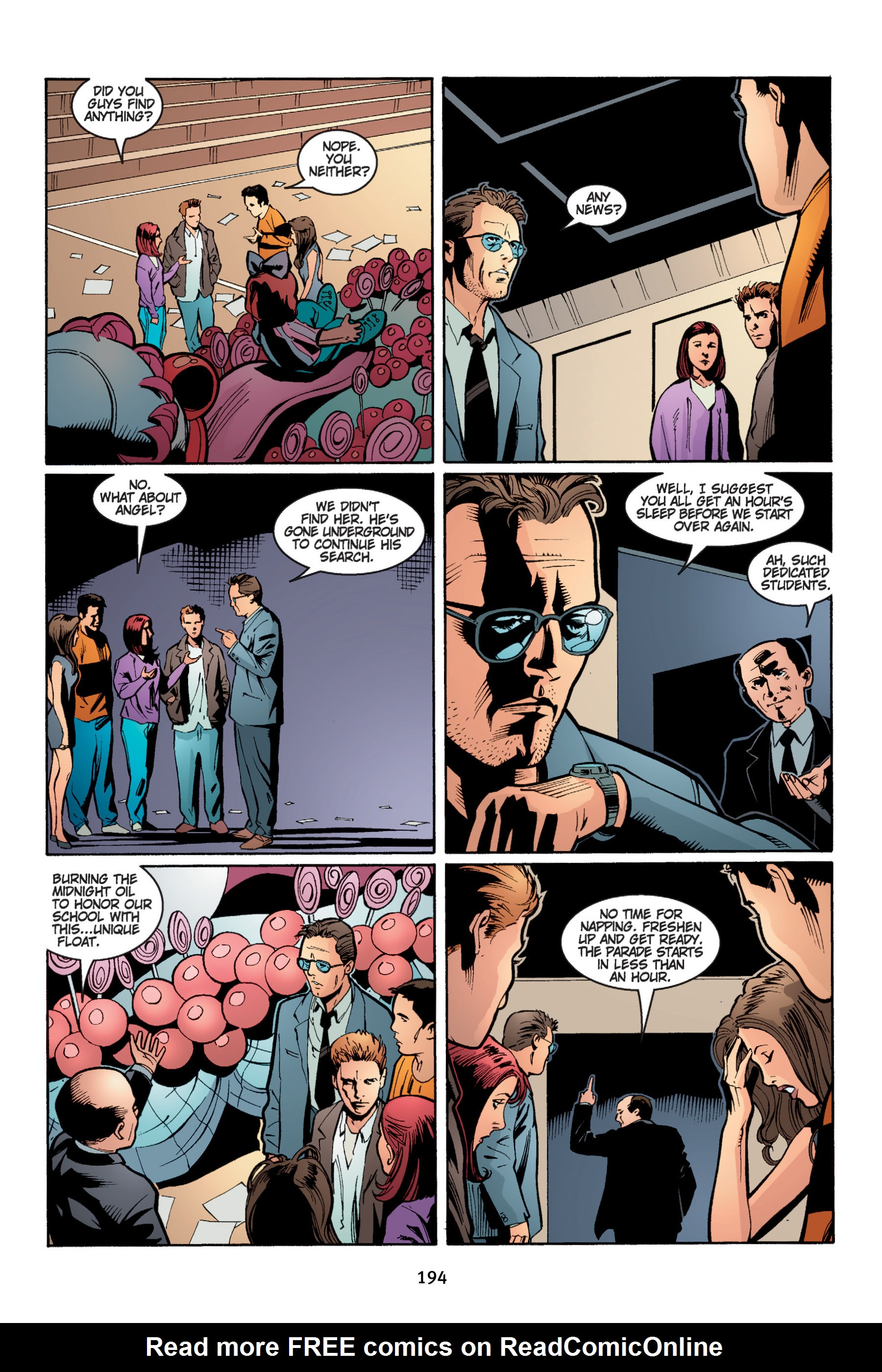 Read online Buffy the Vampire Slayer: Omnibus comic -  Issue # TPB 4 - 194