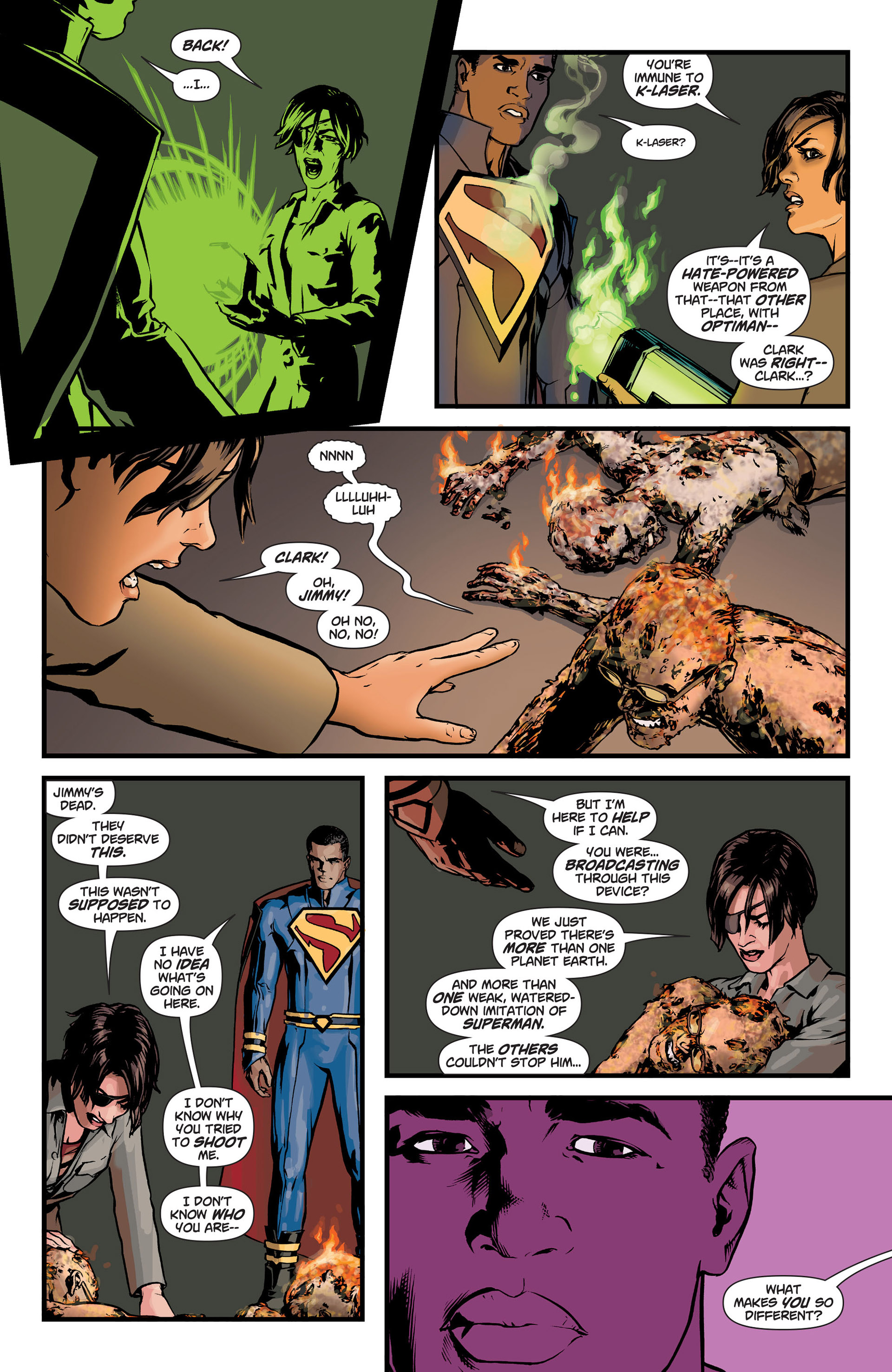 Read online Action Comics (2011) comic -  Issue #9 - 9